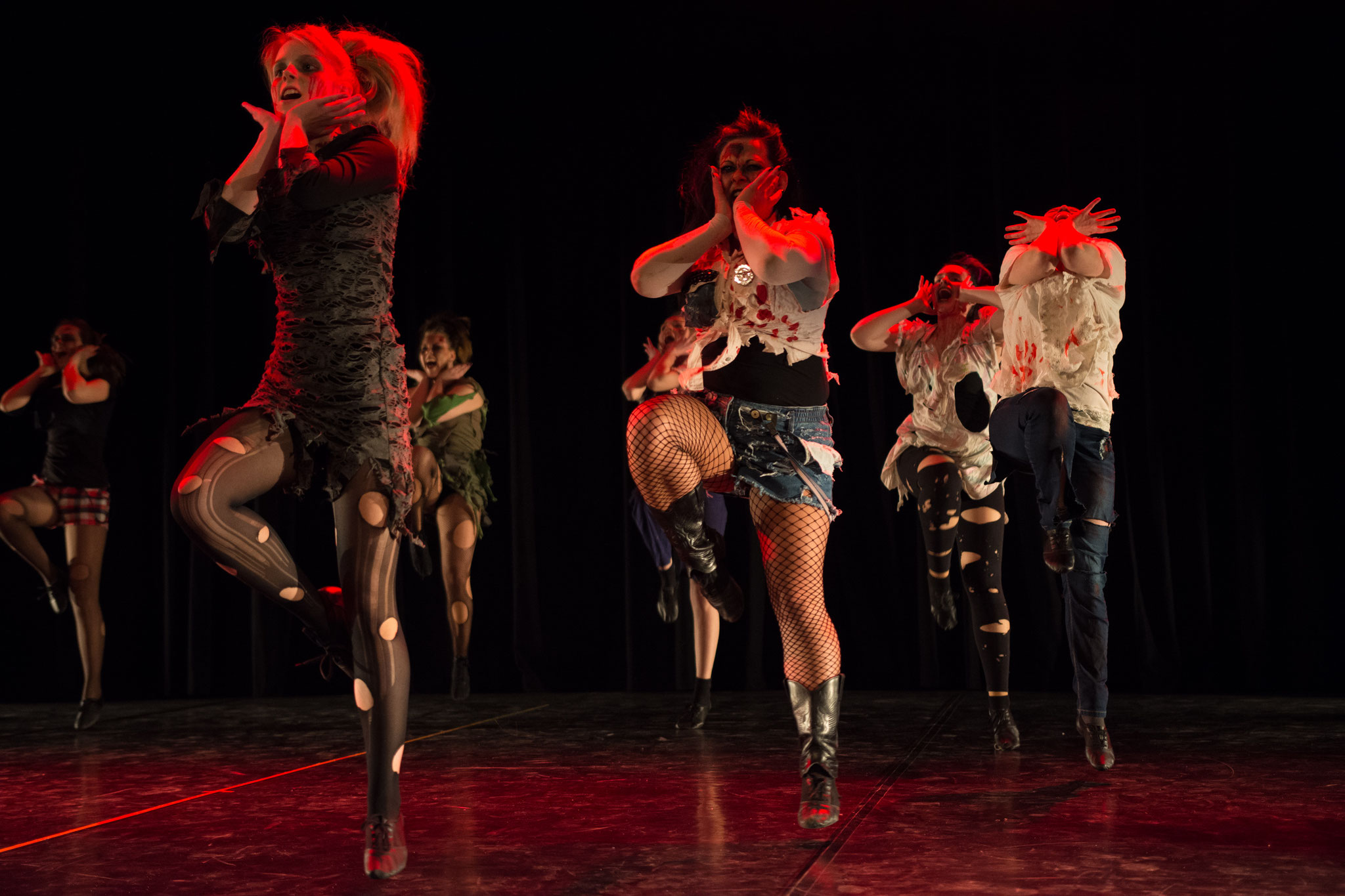 CarMa Chicks - Zombie Dance - Photo by Rainer Bolte Photography