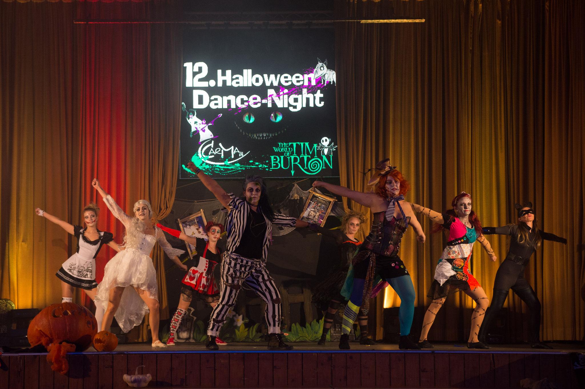 Eröffnung 12. Halloween-Dance-Night