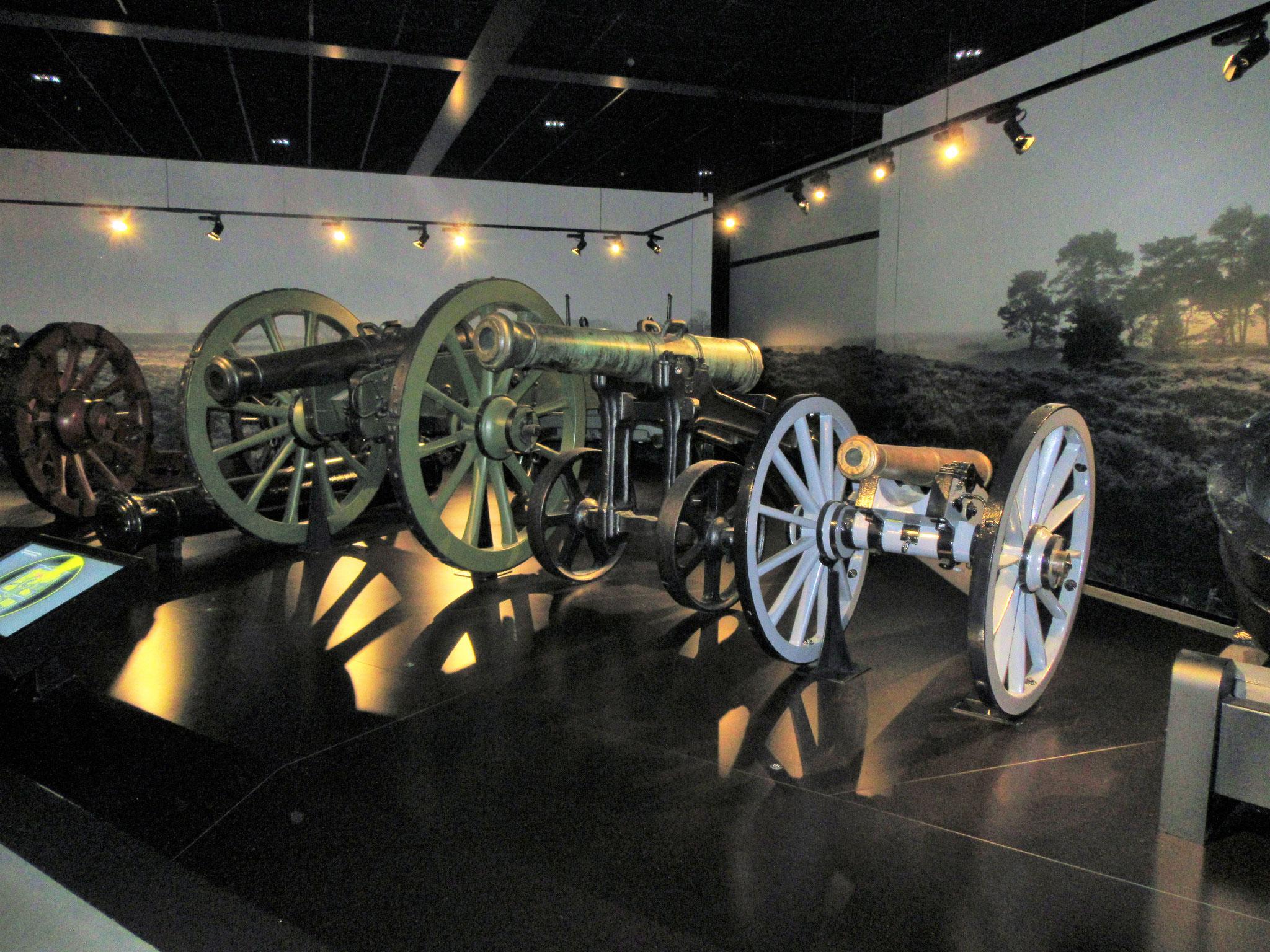 artilleriestukken...