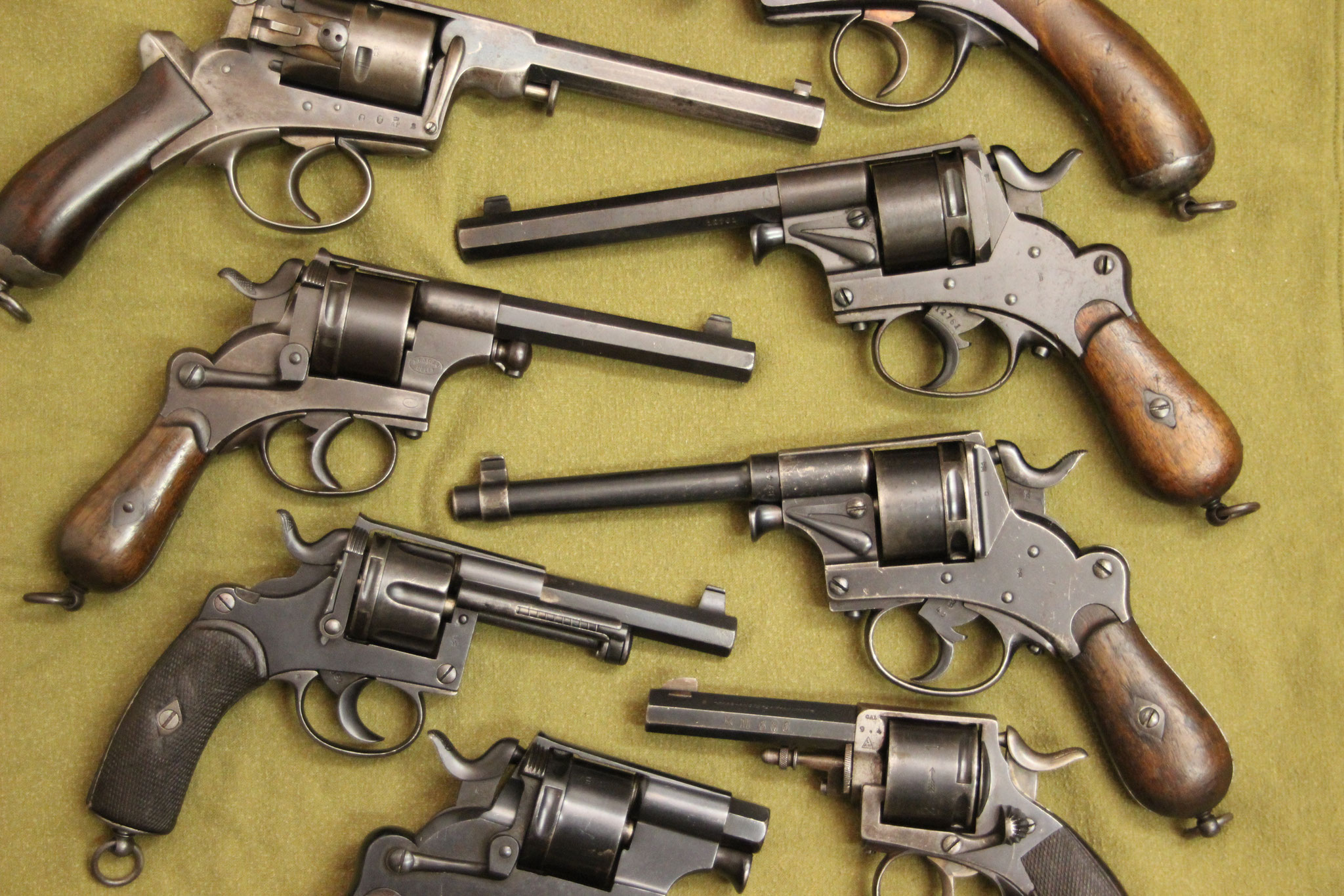 verschillende revolvers