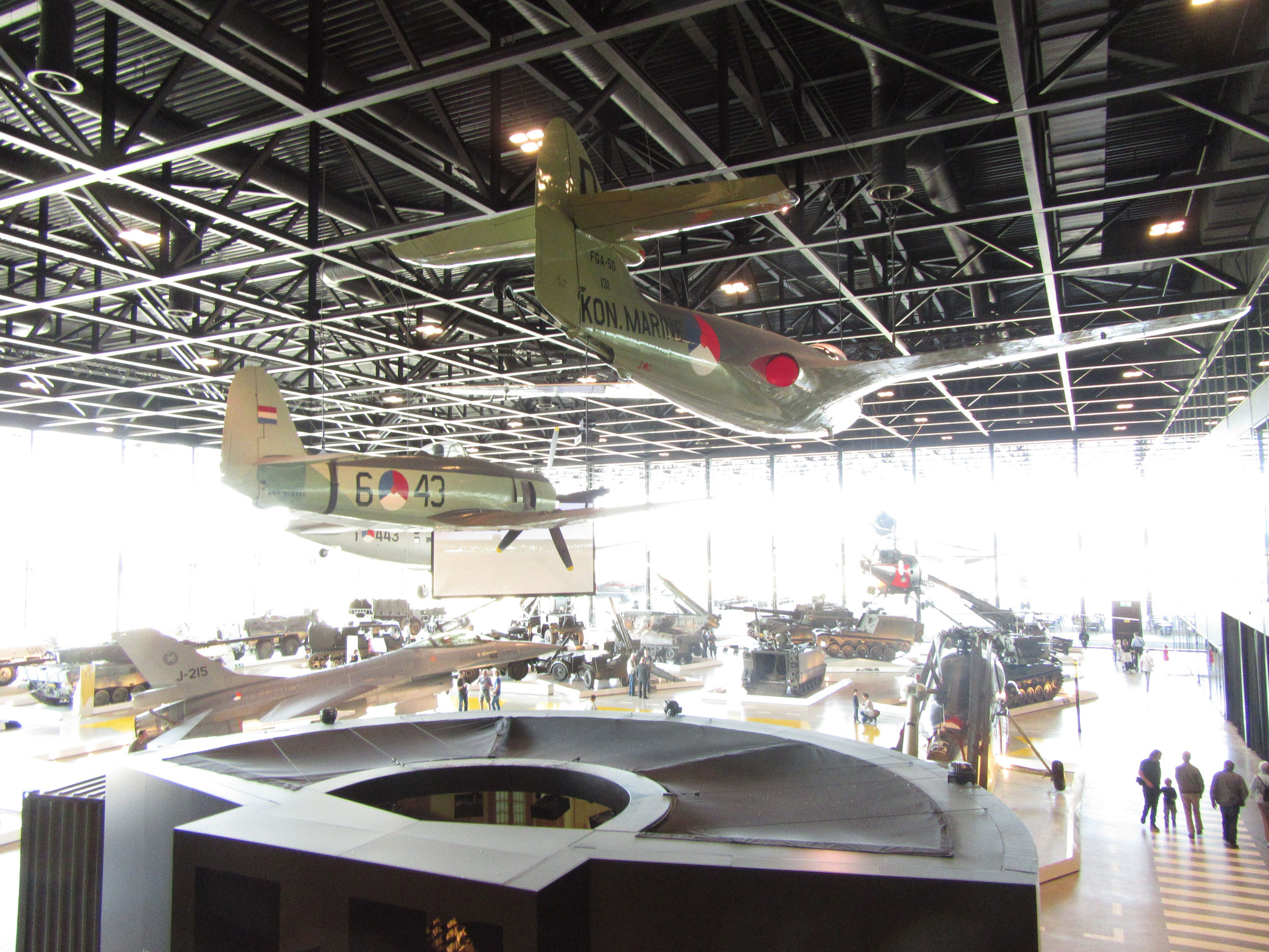 Ook in het Nationaal Militair Museum zijn wij niet onbekend!