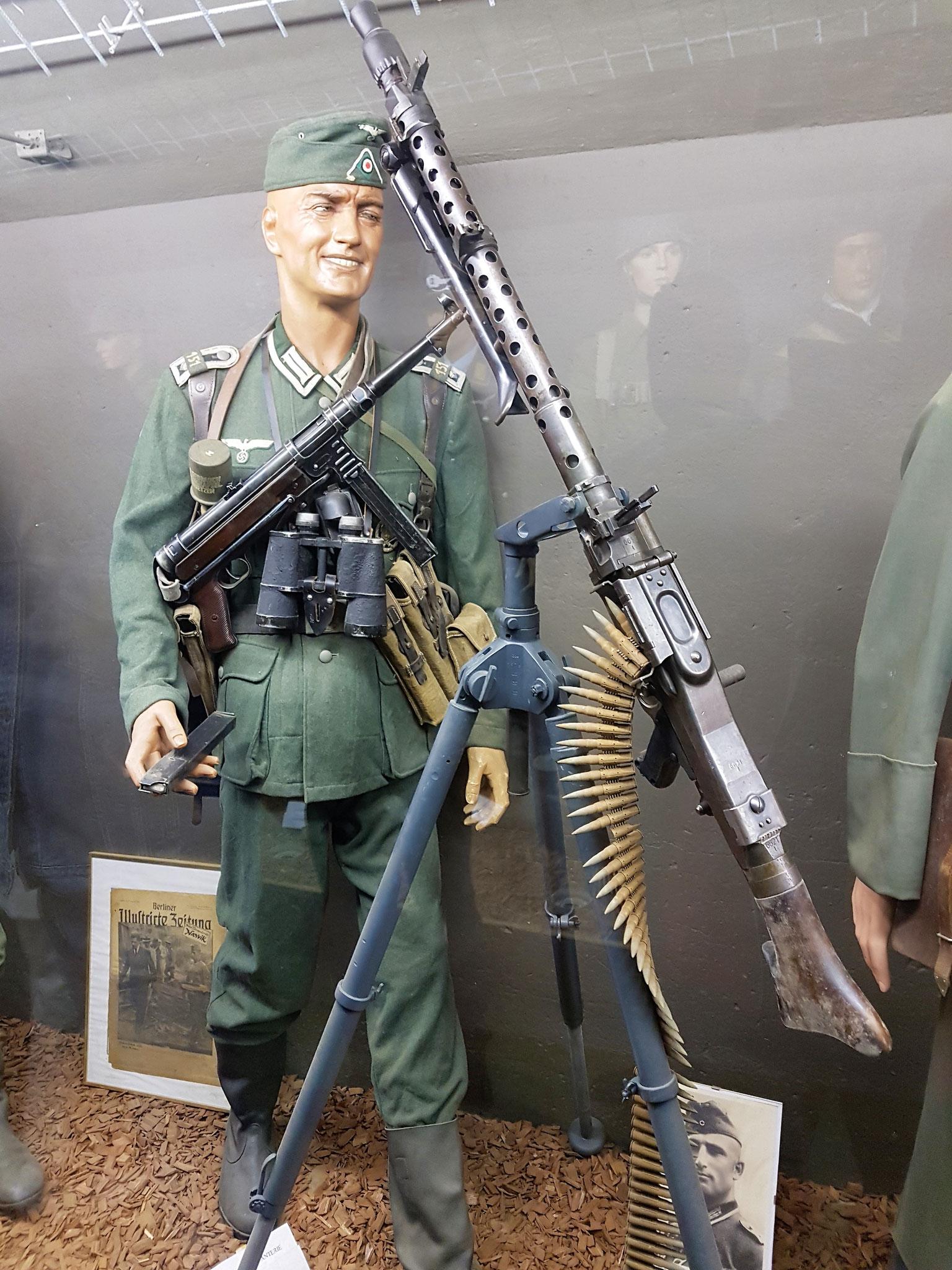 en wapens geven een goede indruk.