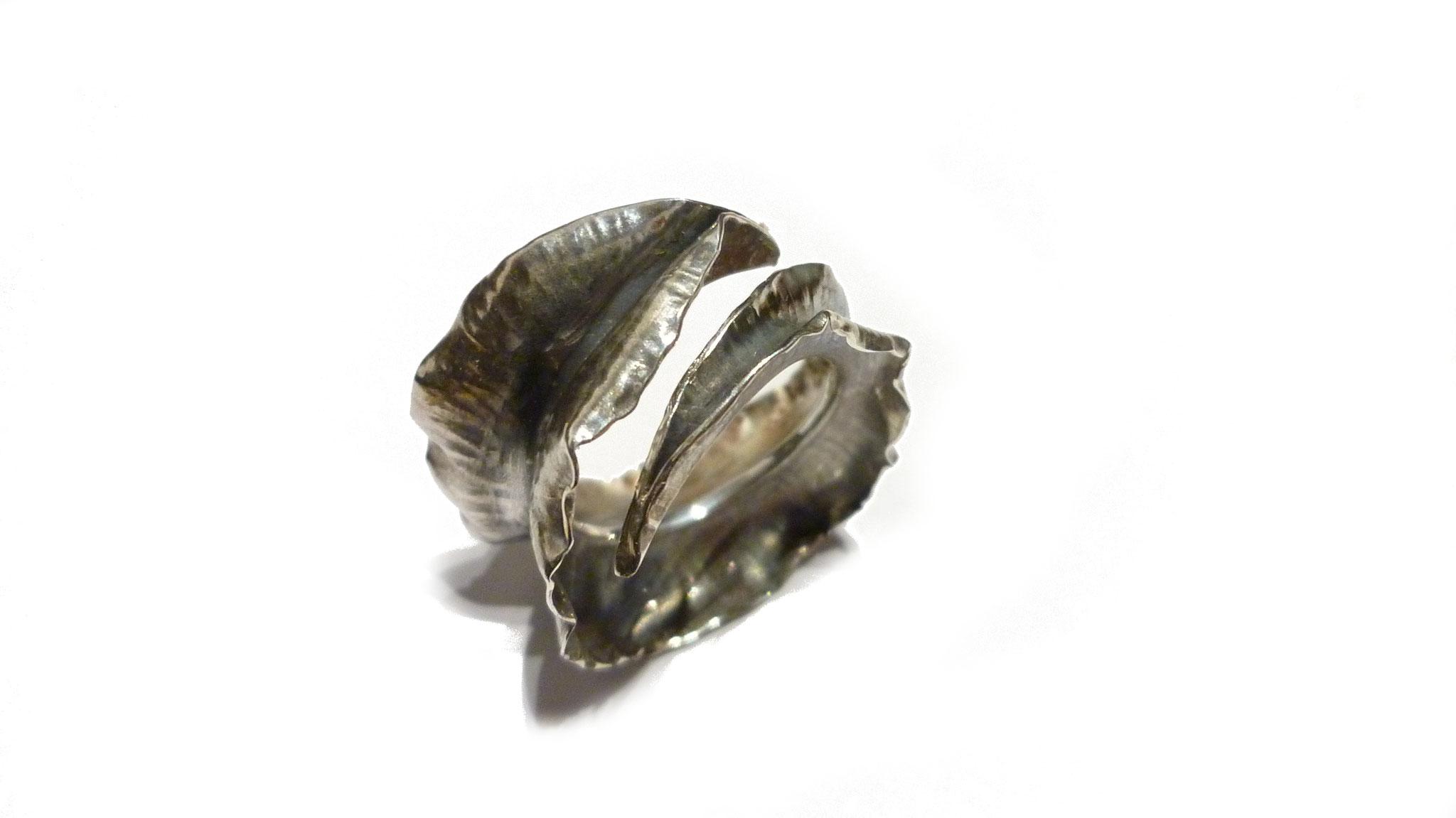 Handgeschmiedeter Silberring