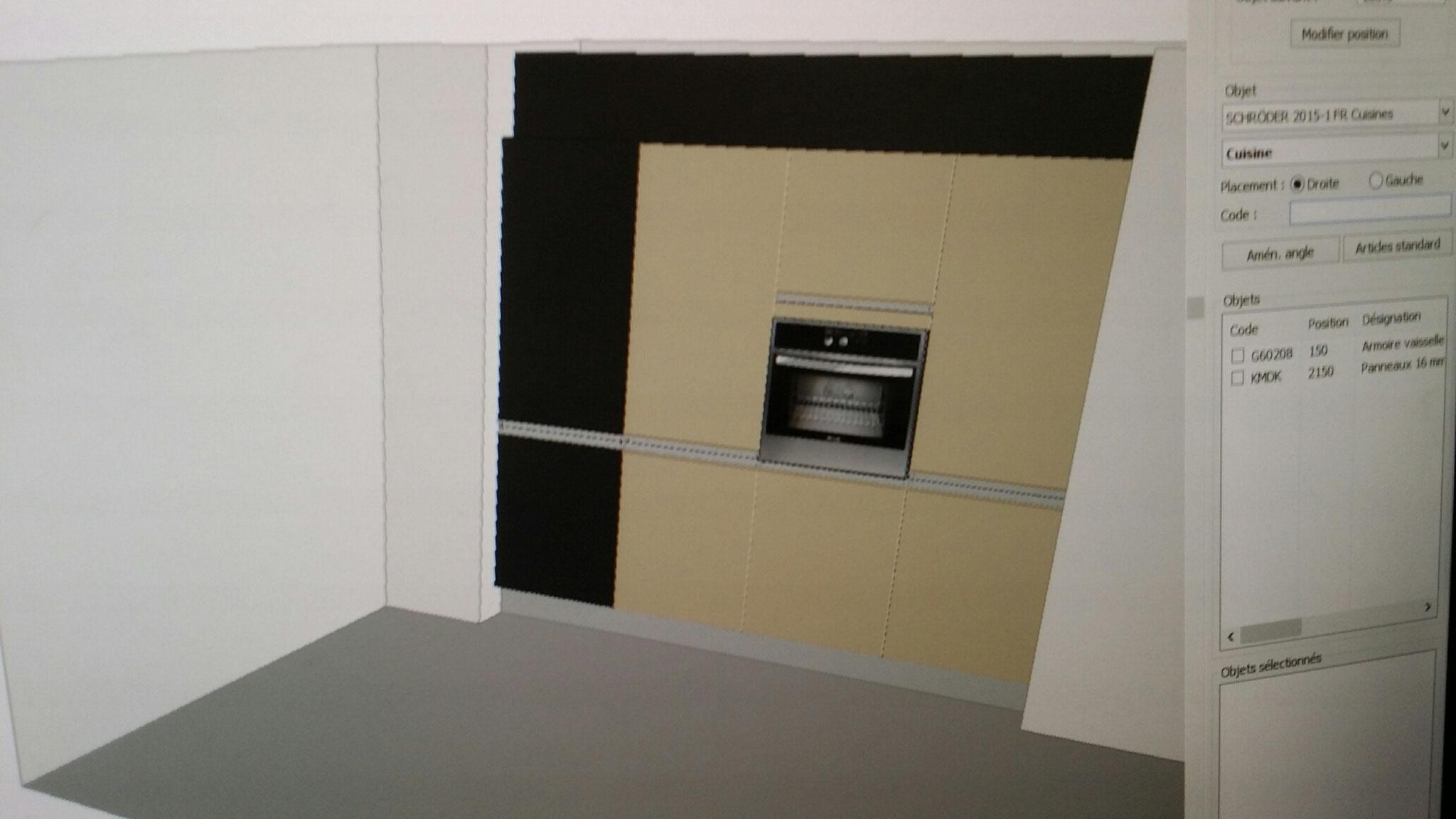 visuel du nouveau block d'armoire