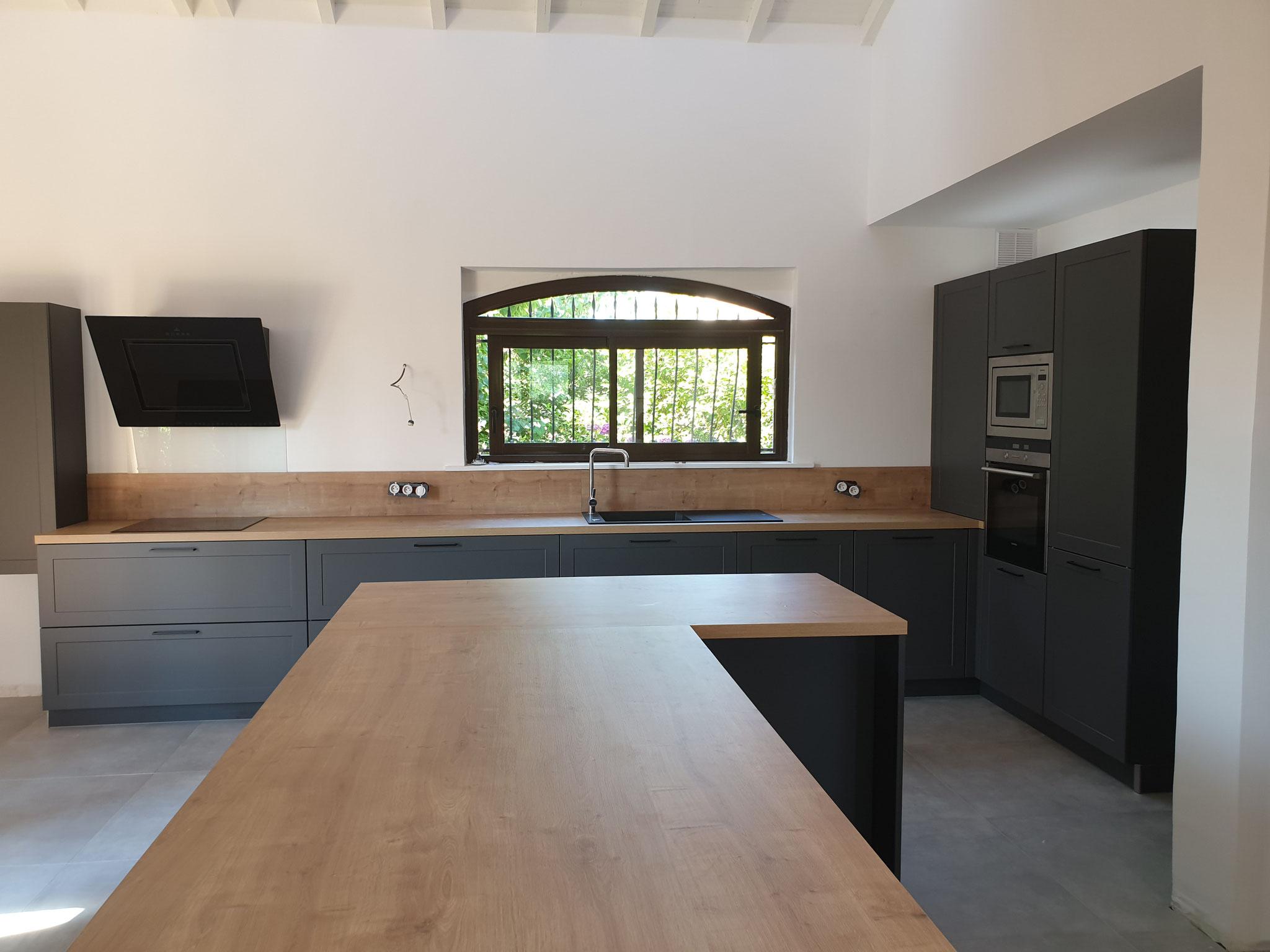 Cuisines Integrees Avant Apres Cuisine Interieur Design Toulouse