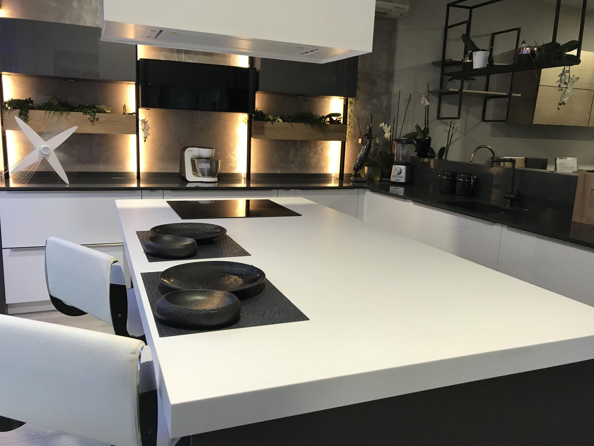 nouveauté 2020 cuisine style industrielle exposée au showroom Cuis'in Design Toulouse