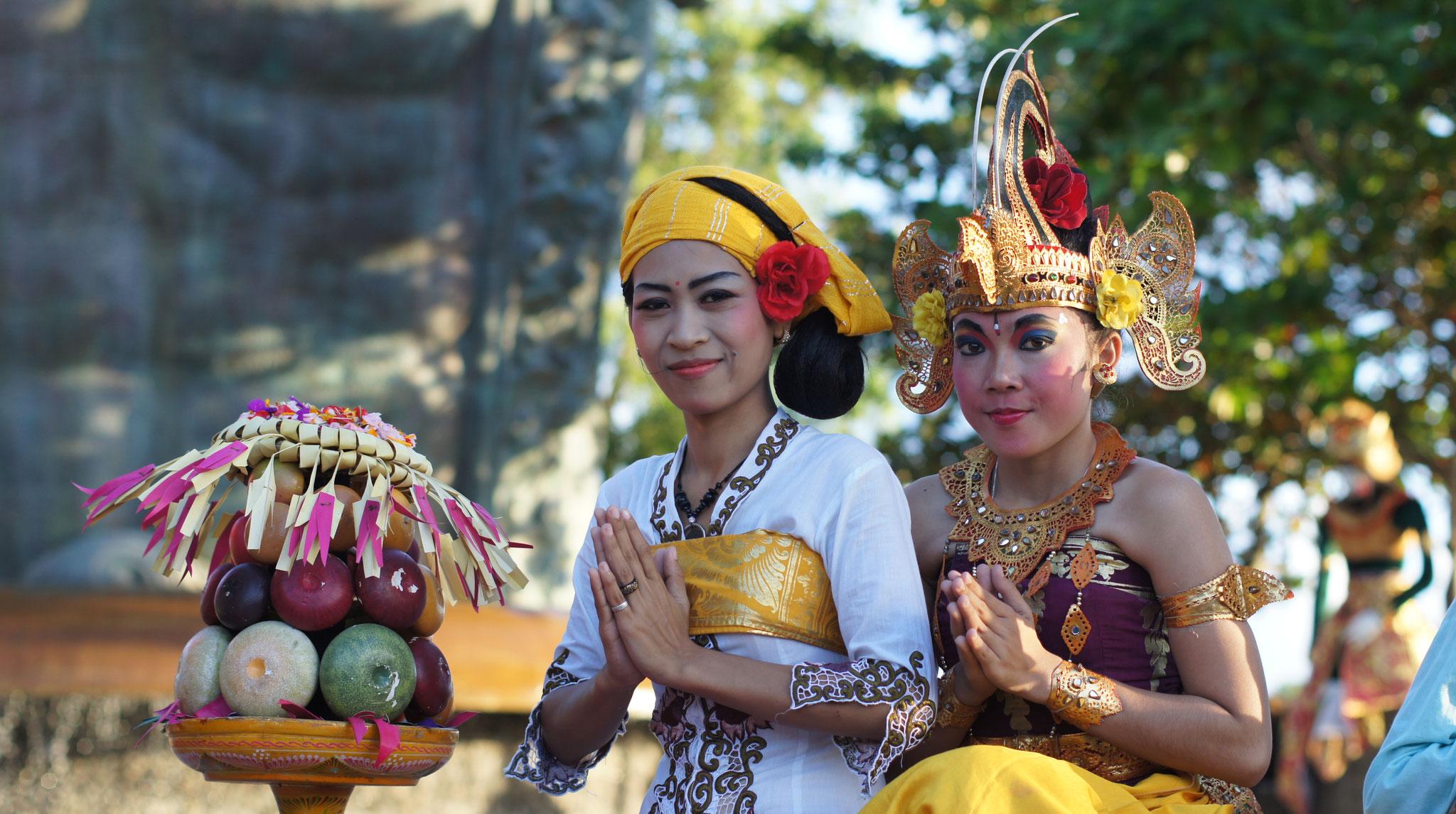 Balinesische Mädchen