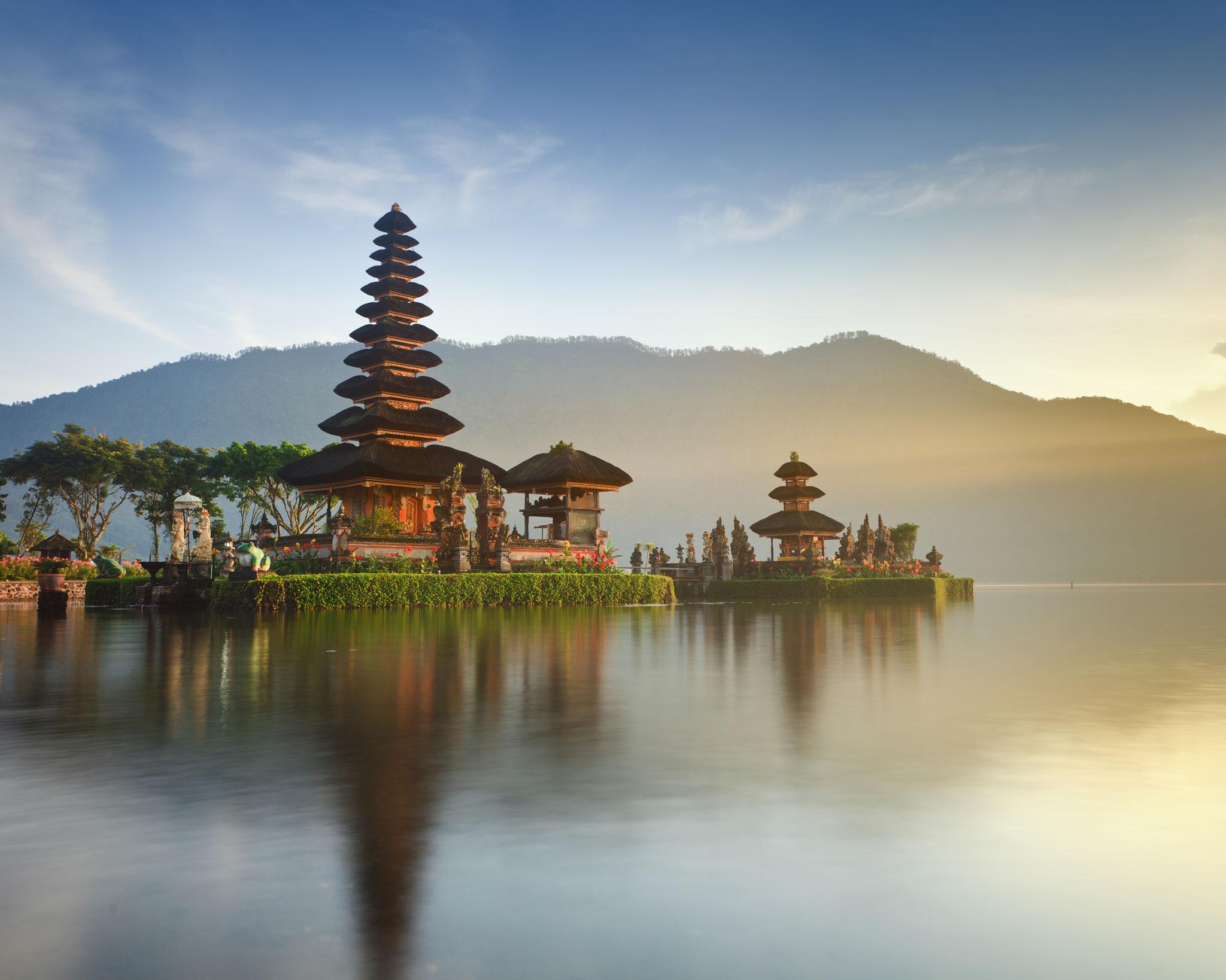 Ulun Danu Tempel beim Beratan See