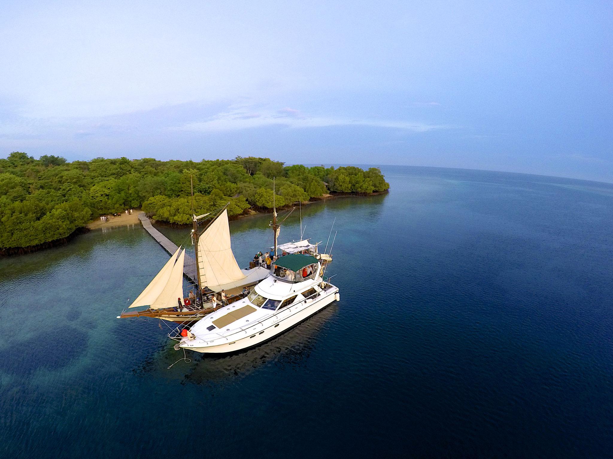 Bootsfahrt, Plataran Menjangan, wunderschönes Resorthotel in Westbali