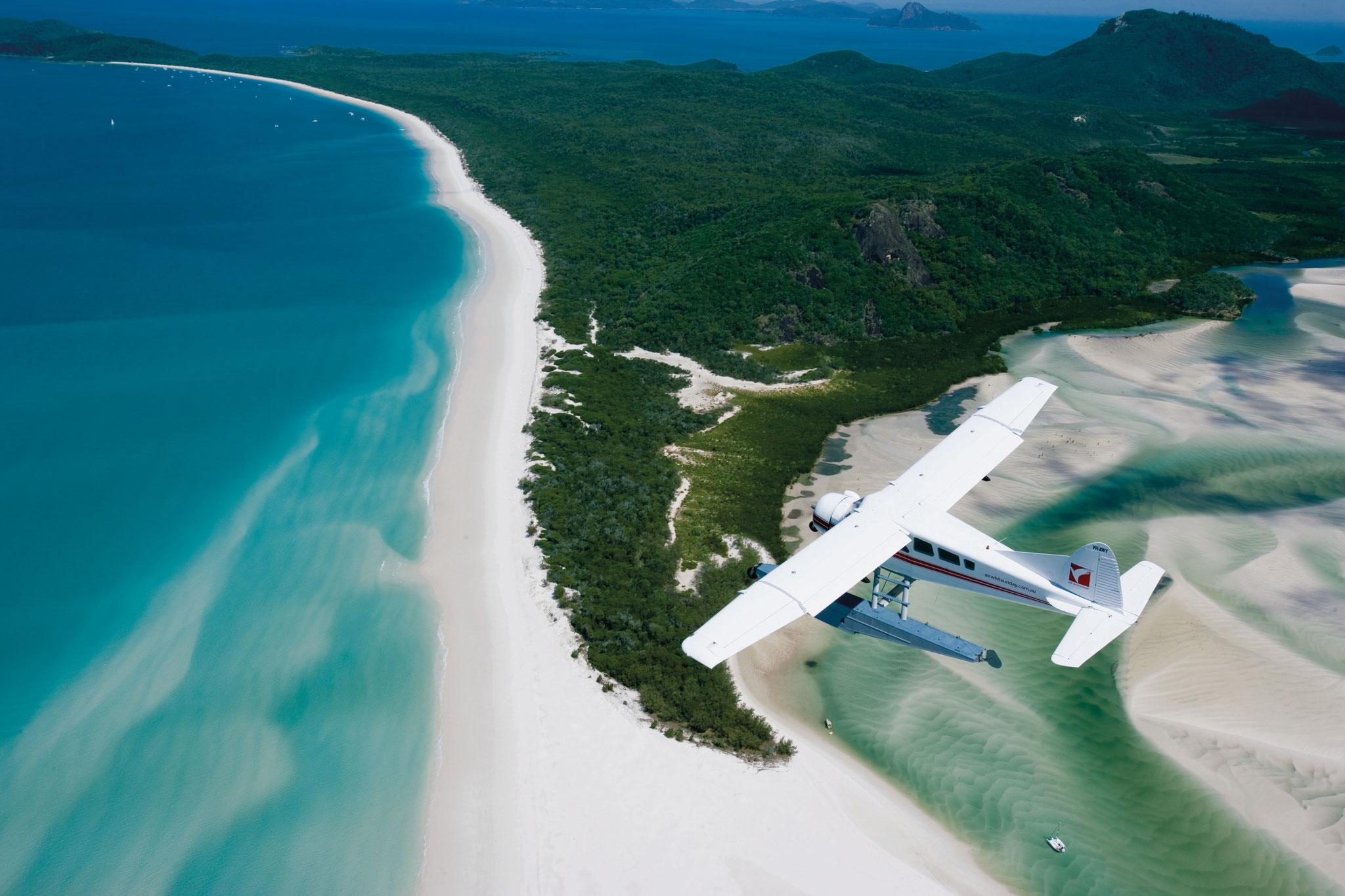 Hoch über Fraser Island                                                                                            © Tourism Australia