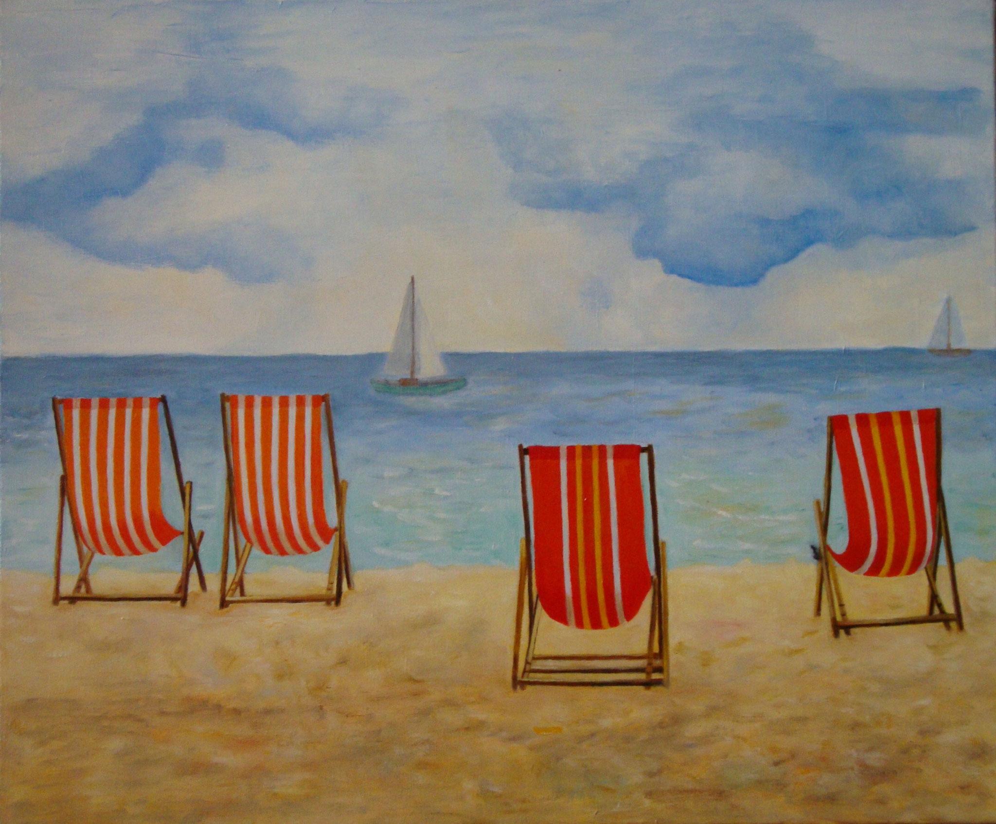 Strandstoelen 50 x 60 br