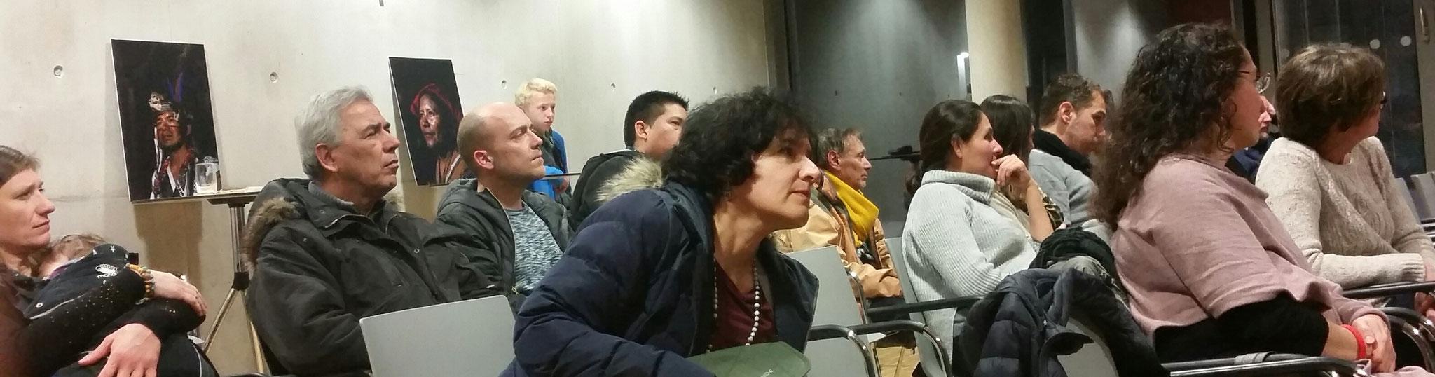 Frau Gloria Vásquez, referentin von Bildung trifft Entwicklung