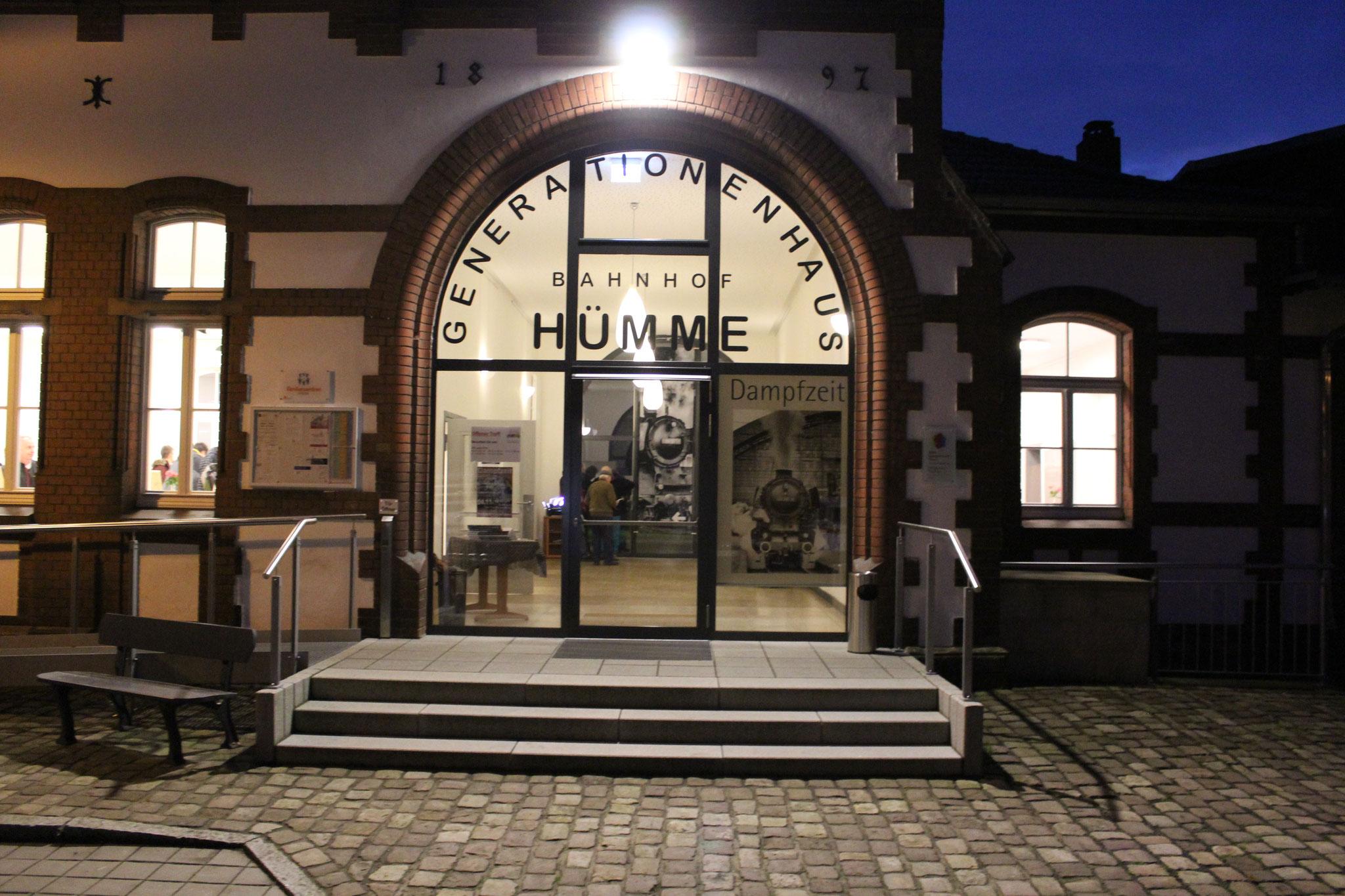 Der Bahnhof Hümme eignet sich hervorragend für die Dampfzeit-Ausstellung.