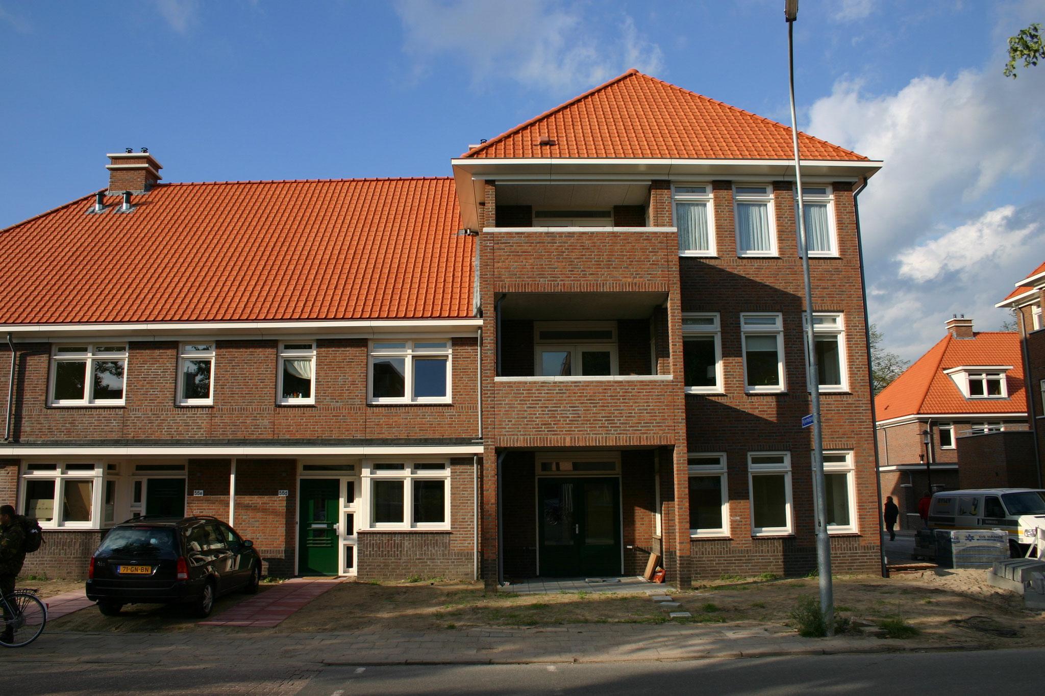 Nieuwbouw van 61 luxe woningen en 80 seniorenappartementen in Ede. Werkzaamheden: Bouwkundig tekenwerk en vergunningen. Opdrachtgever: woningcorporatie Woonstede.