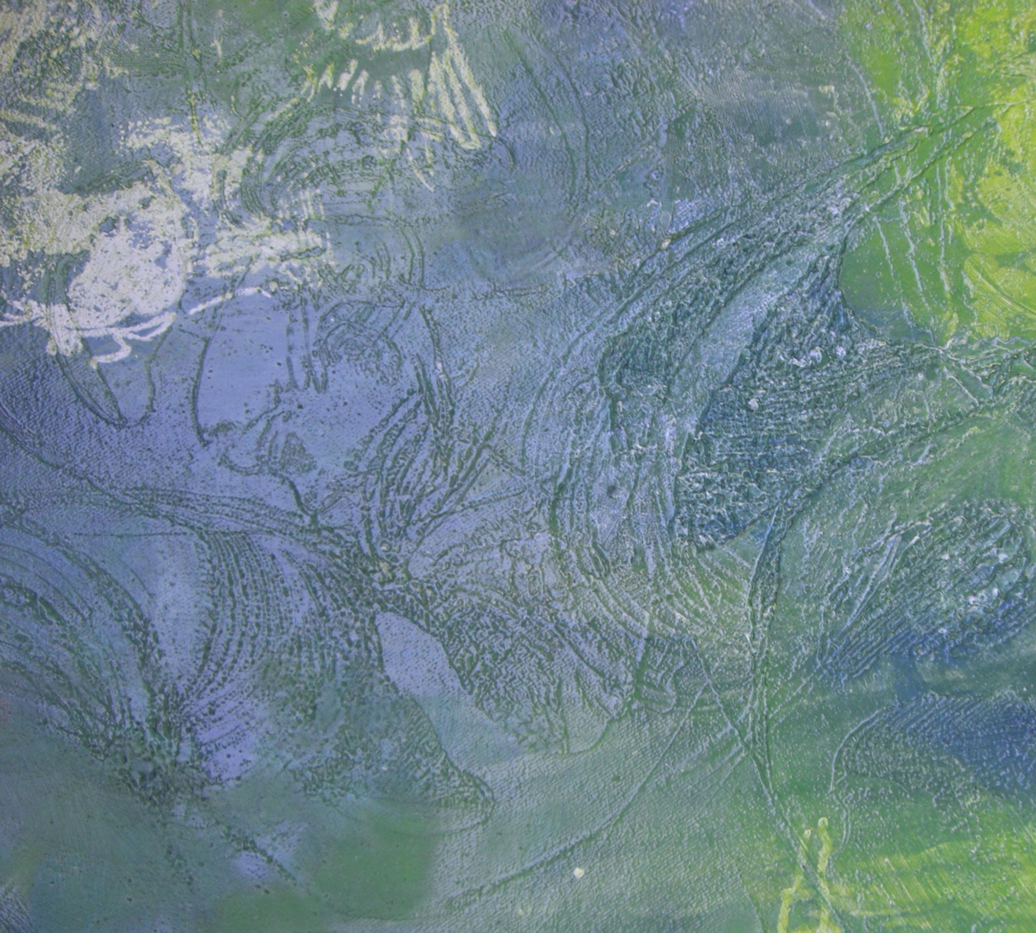 """""""Oriental Garden"""", 2010, Detail, 200 x 100 m, Öl auf Leinwand (Sammlung der LzO """"Im Norden"""")"""