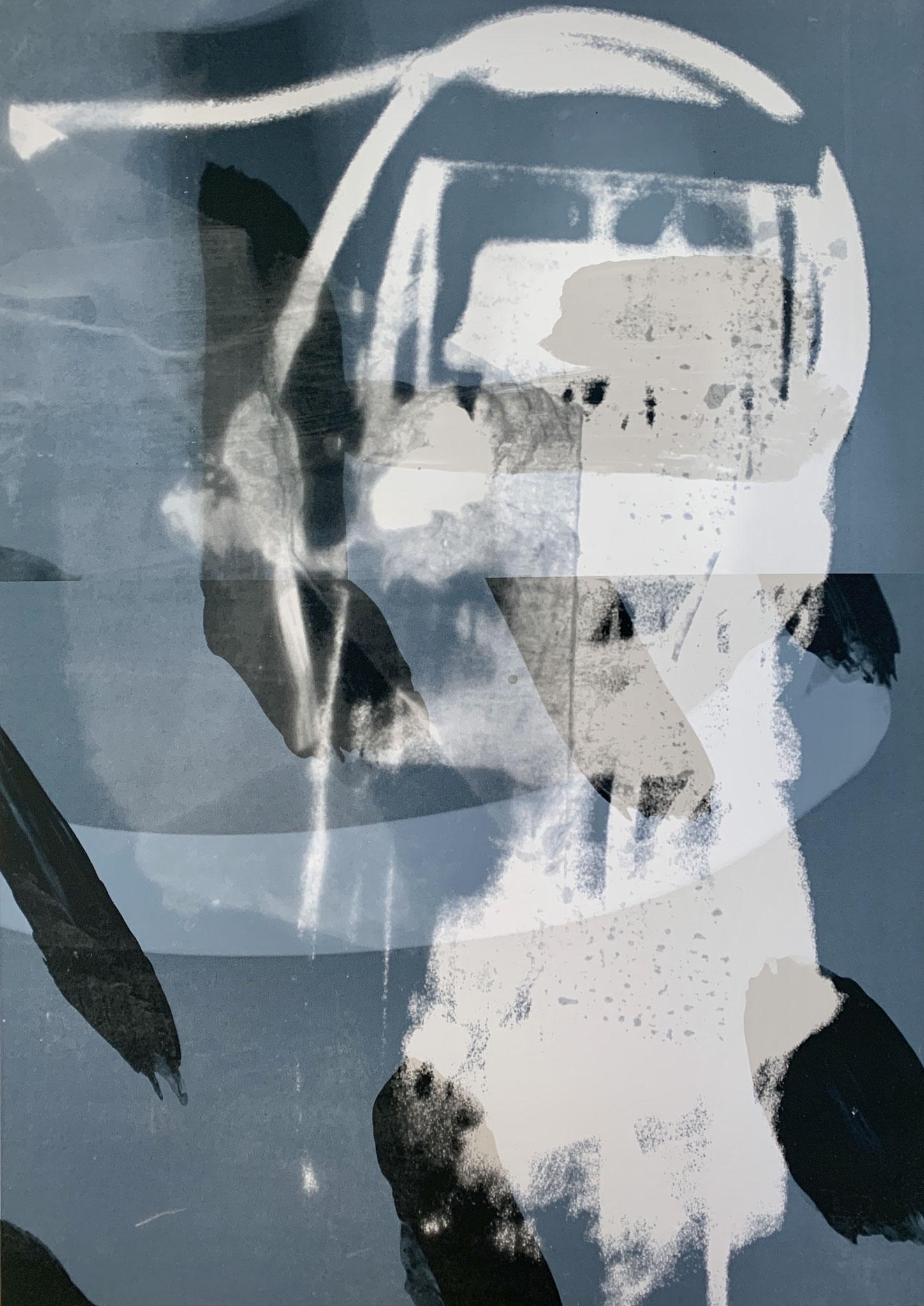 Kopfqualle, Print, 40 x 50 , 2020