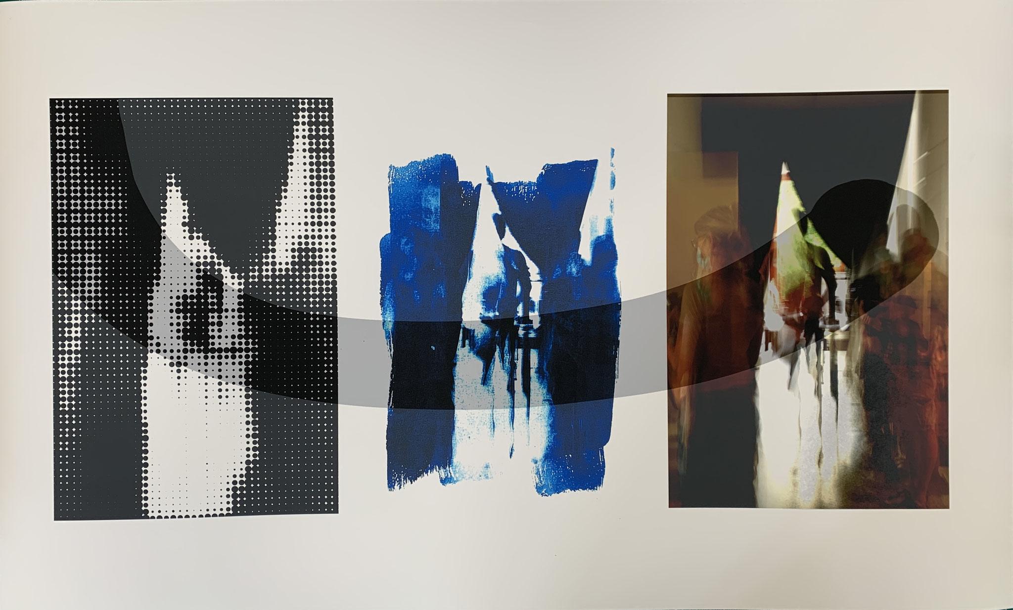 Fließende Bindung, Print, 35 x 75 cm, 2020