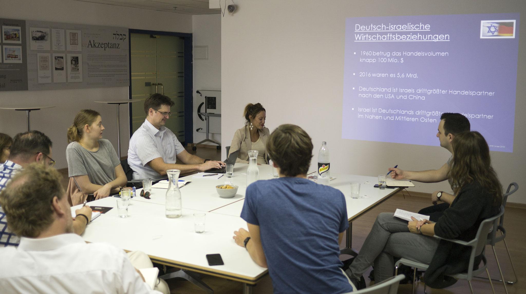 Input für das JDB Team:  Wir wollen verstehen, warum israelische Start-ups so erfolgreich sind