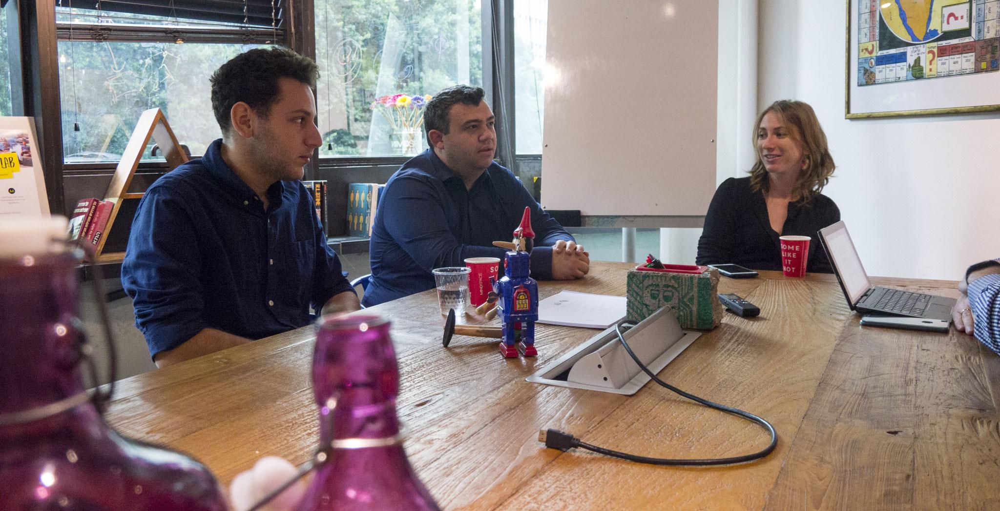 Dynamisches Arbeitsumfeld: Intezer-Talk im Mindspace Tel Aviv