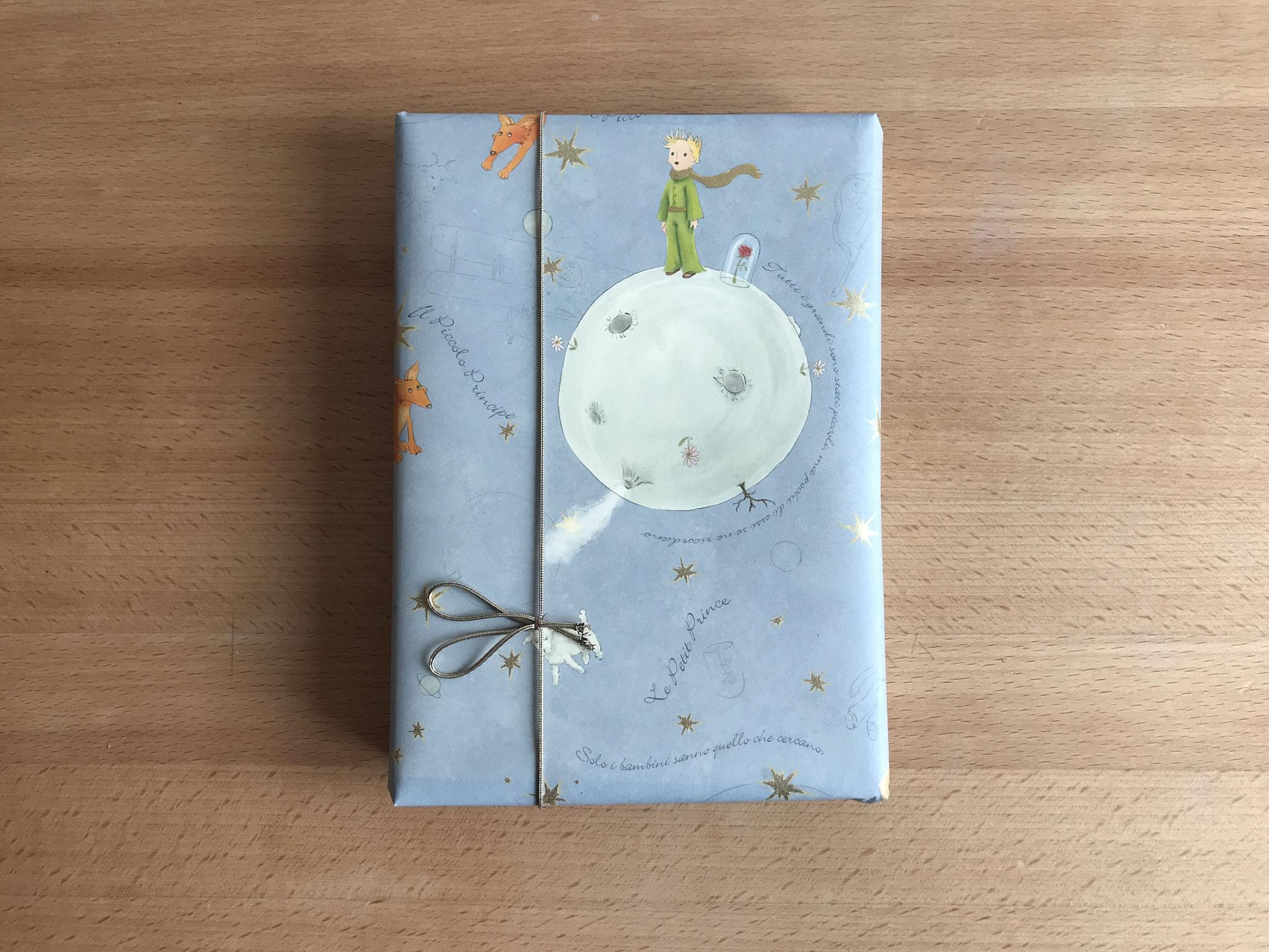 Als Geschenk verpackt (Le Petit Prince)