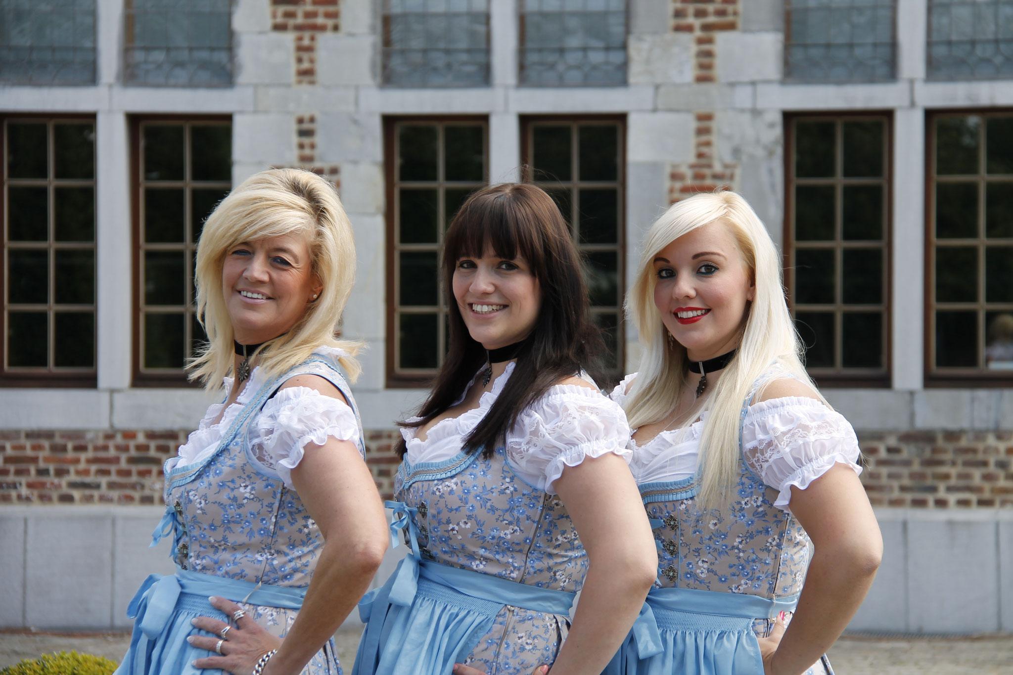 Sonja, Sanne en Karen