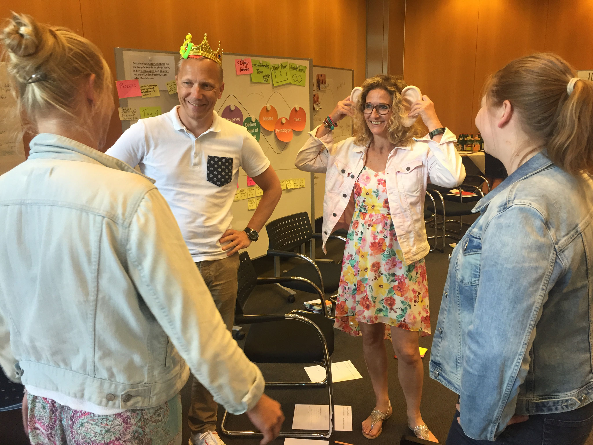Im Workshop Innovation Coach - Advanced planen die Teilnehmer detailliert ihren ersten Design Thinking-Workshop.