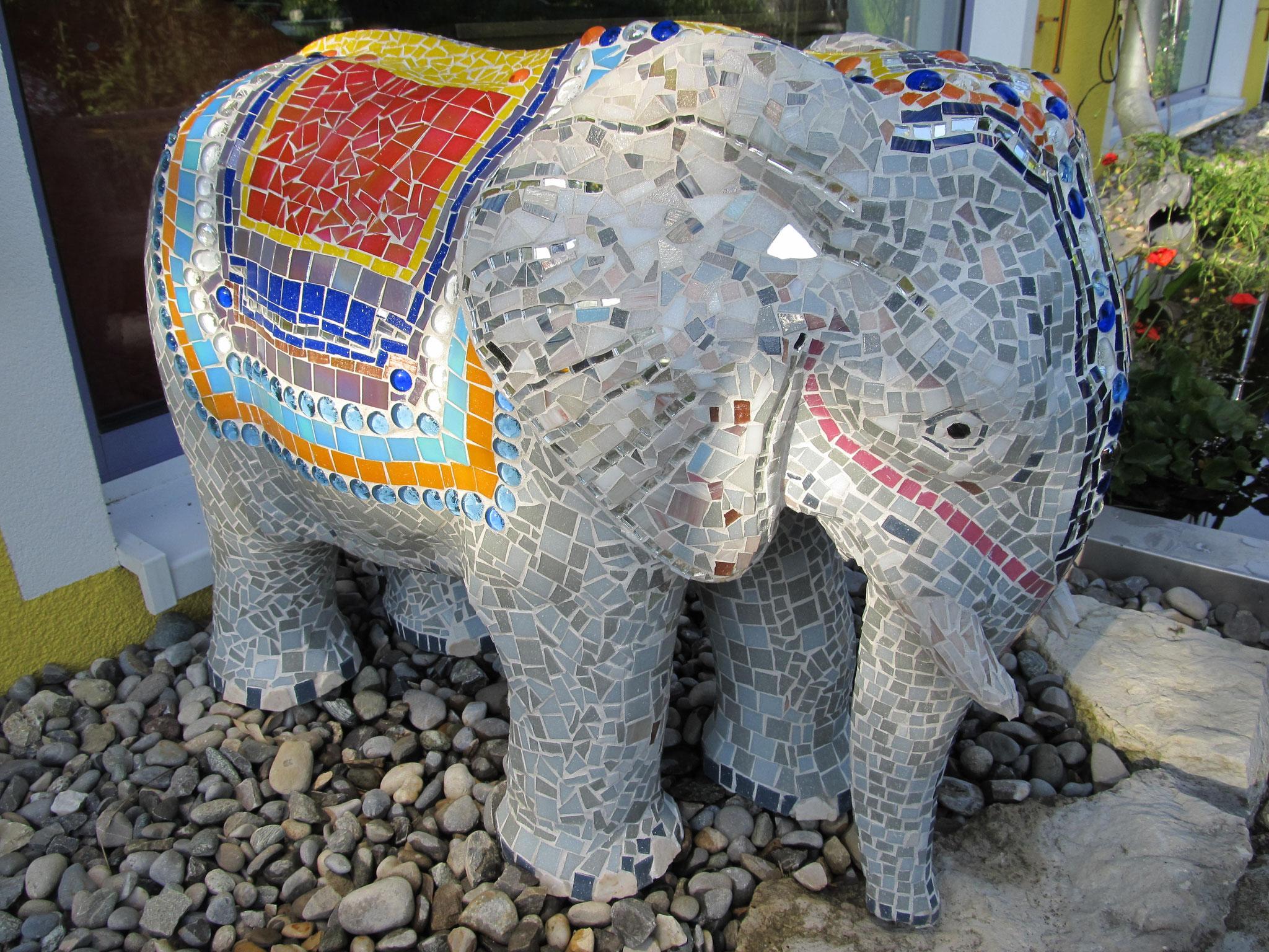 Elefant für Außenbereich