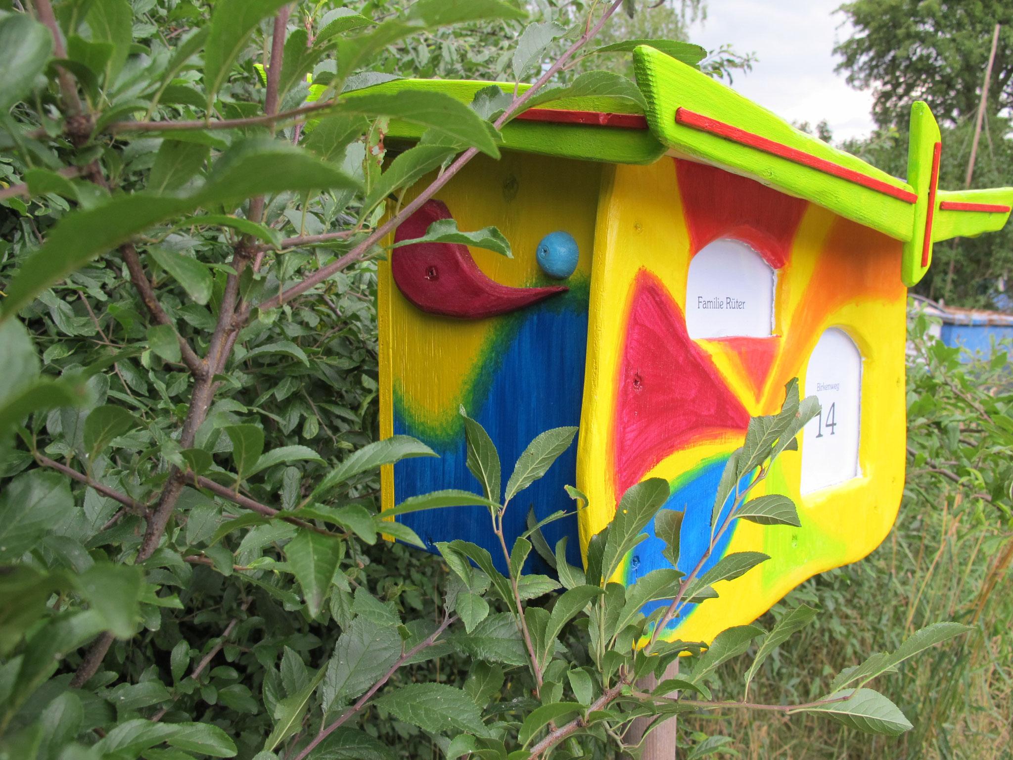 Der schon oft gebaute Briefkasten