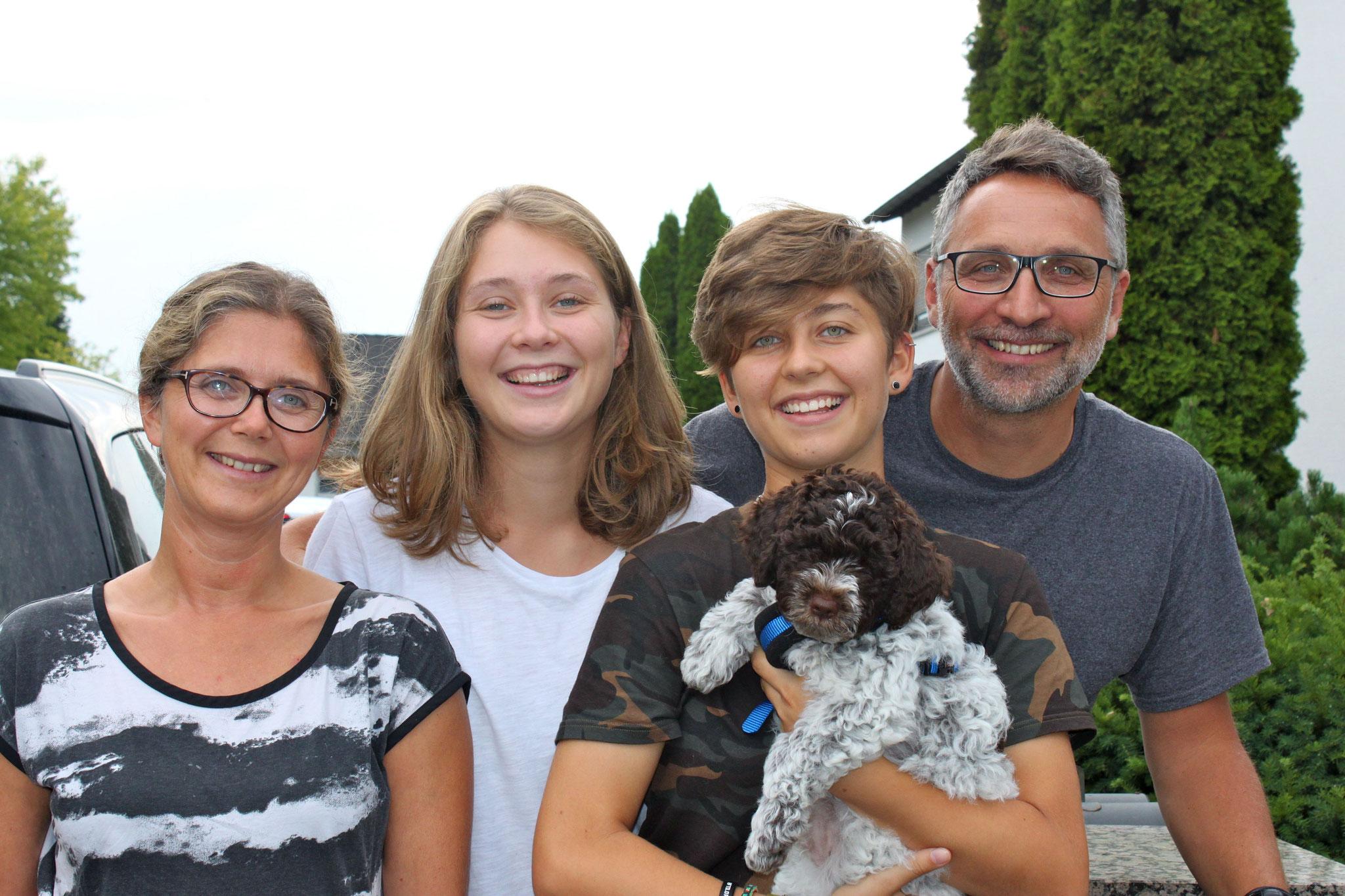 meine neue Familie
