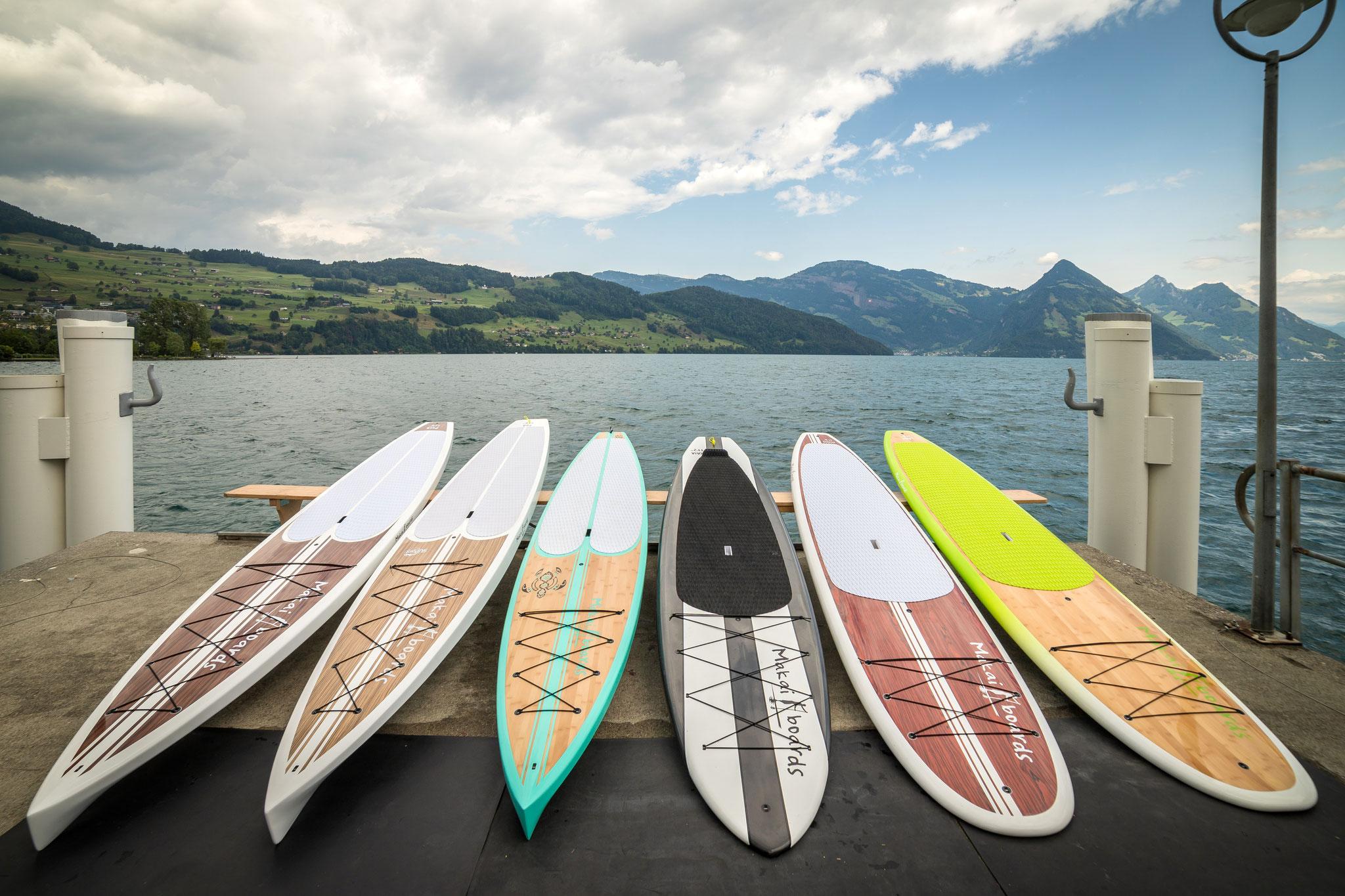 SUP Hardboards von Makaiboards