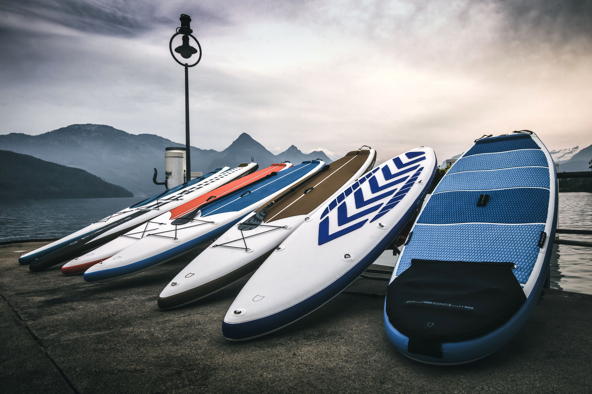 Inflatable SUP (iSUP's) von Airboard