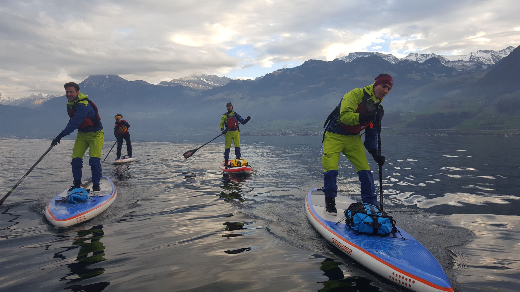 Winter SUP Tour
