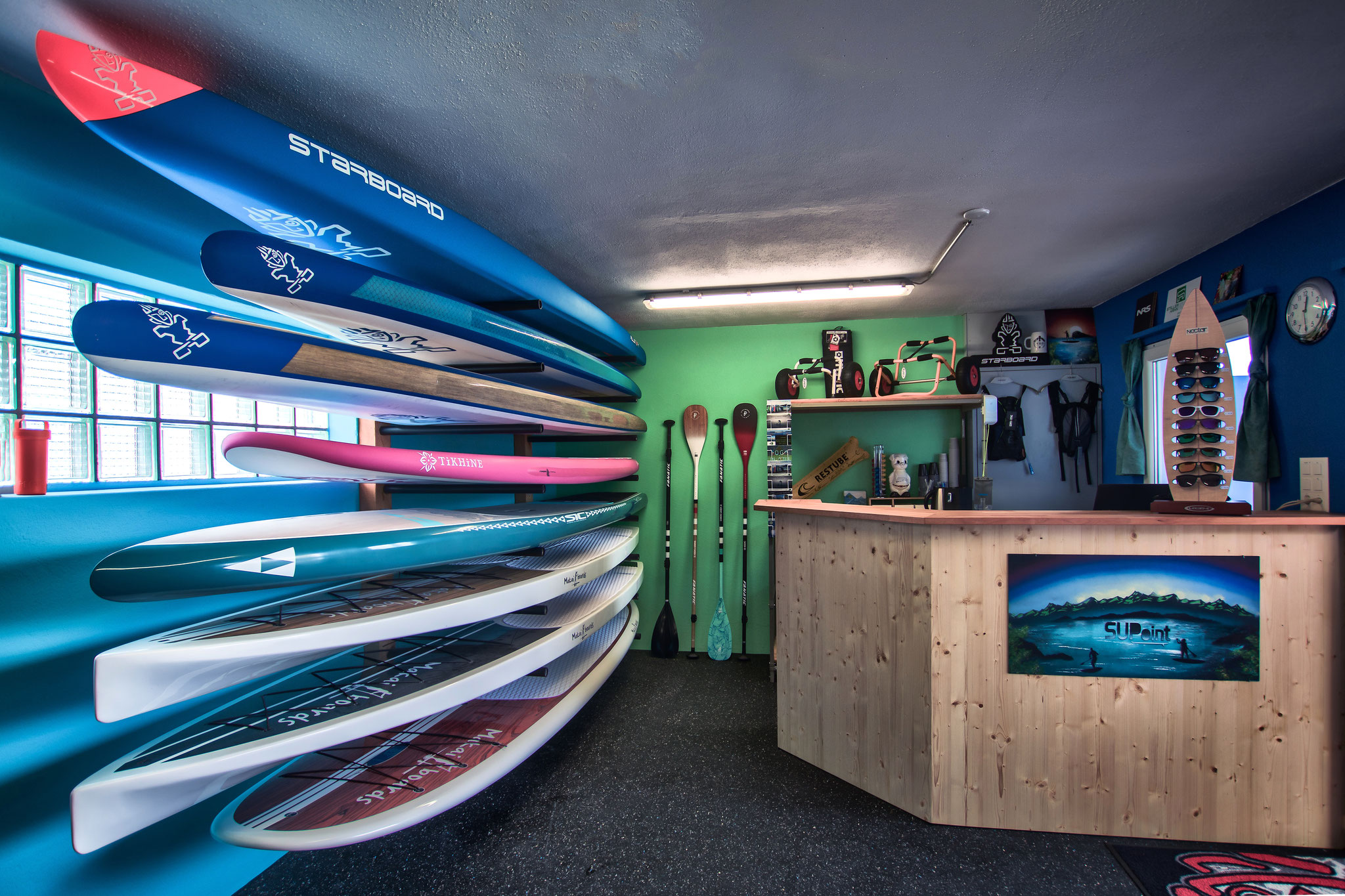SUP Shop im SUPoint Buochs