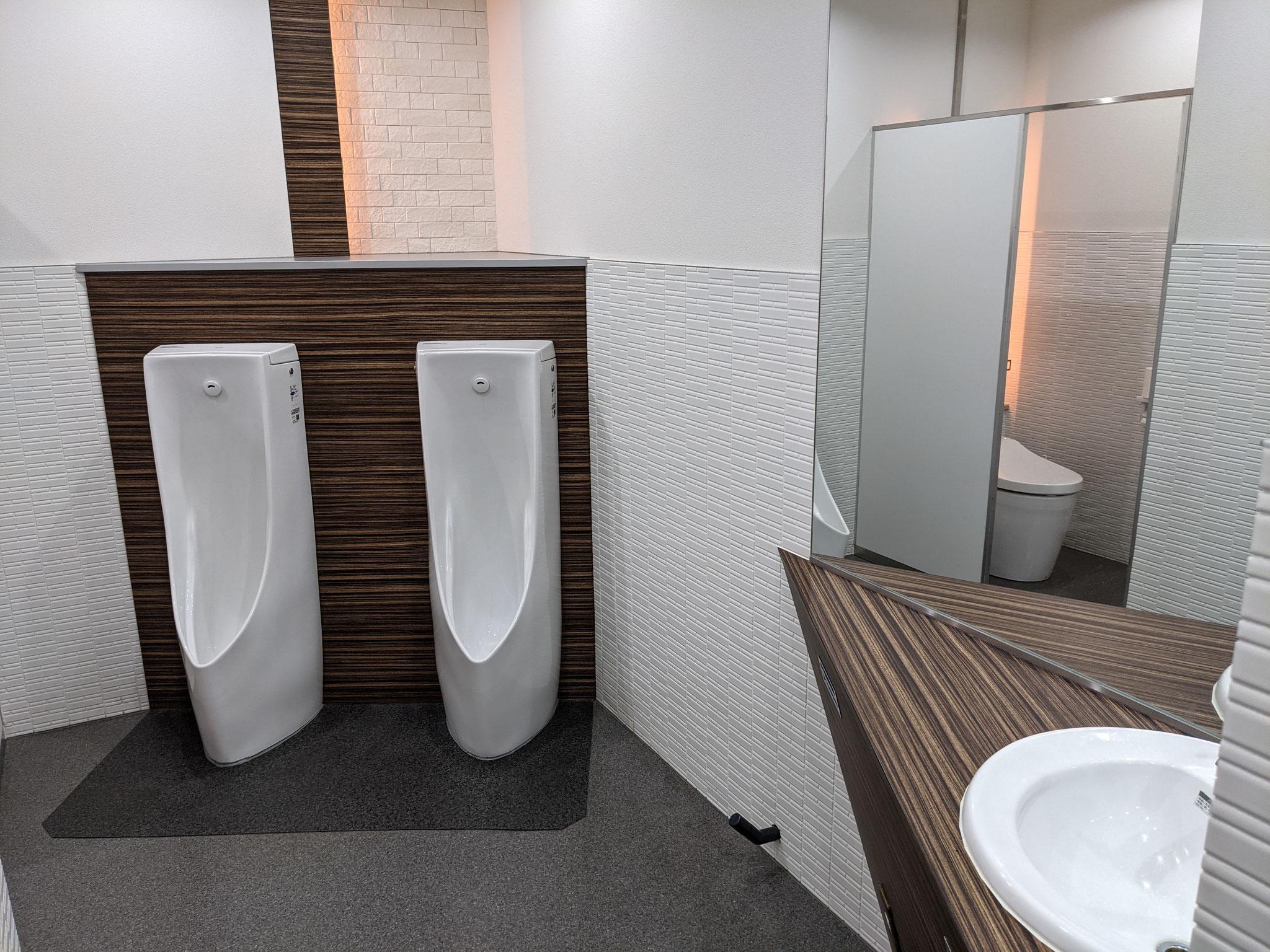 いつも清潔で綺麗なトイレ。