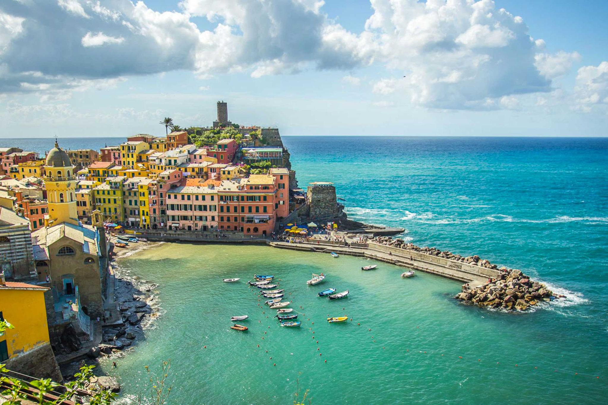 Unvergesslich: Bootstour zu den malerischen Cinque Terre