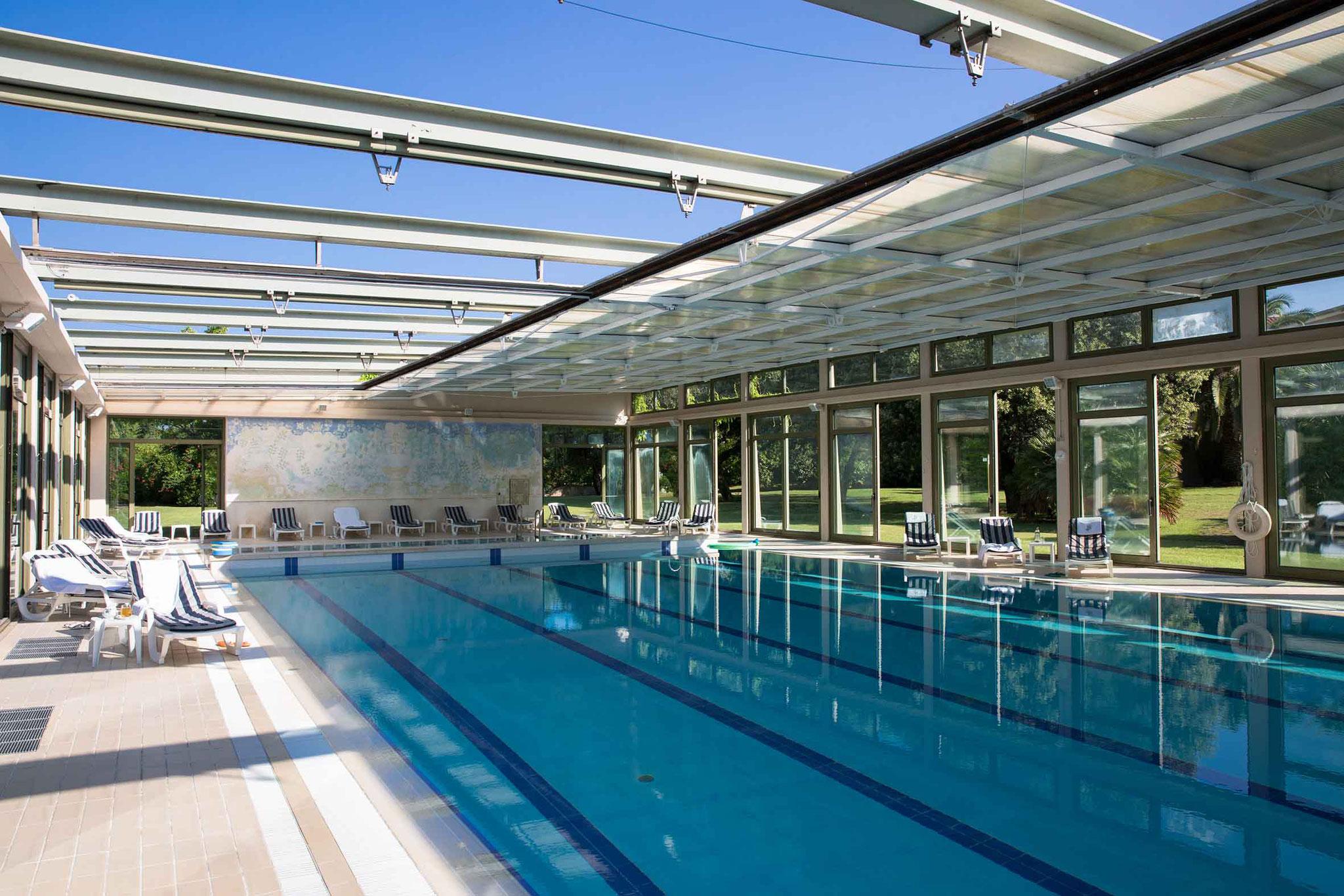 Thermalbad des Hotels Villa Undulna