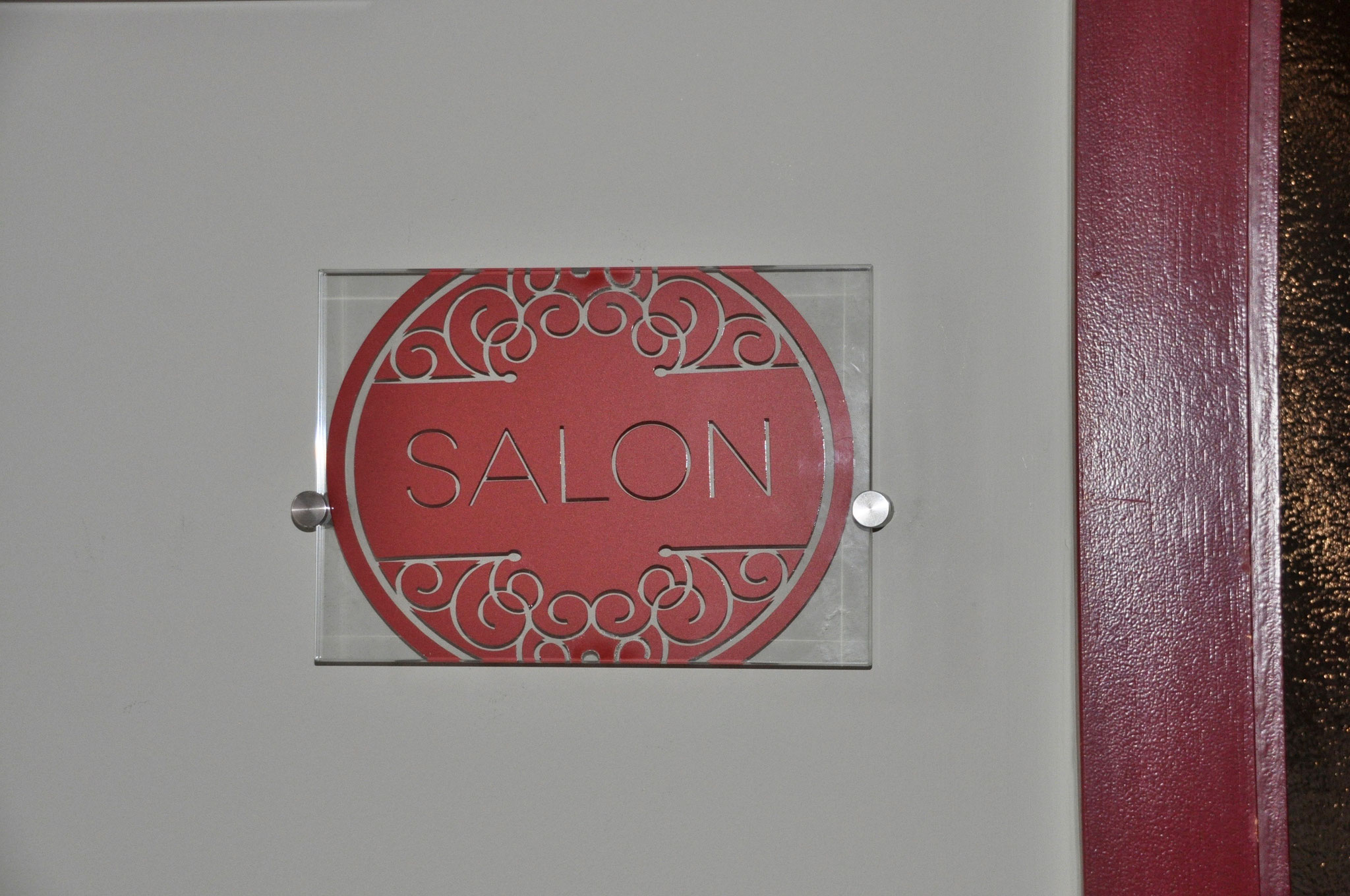 "Saloneingang Friseur ""Jasmin"""