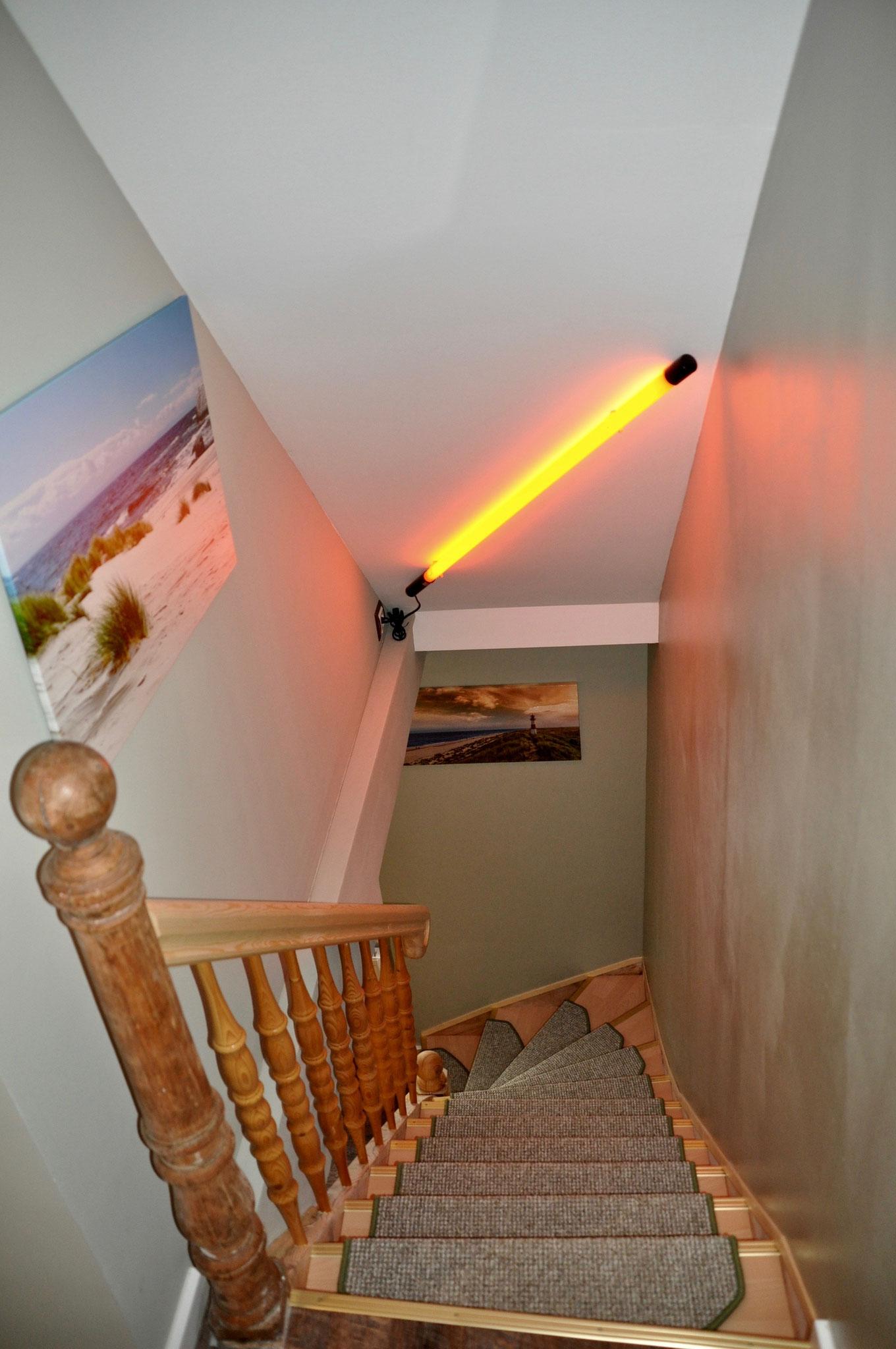 Treppenaufgang Dachgeschoß