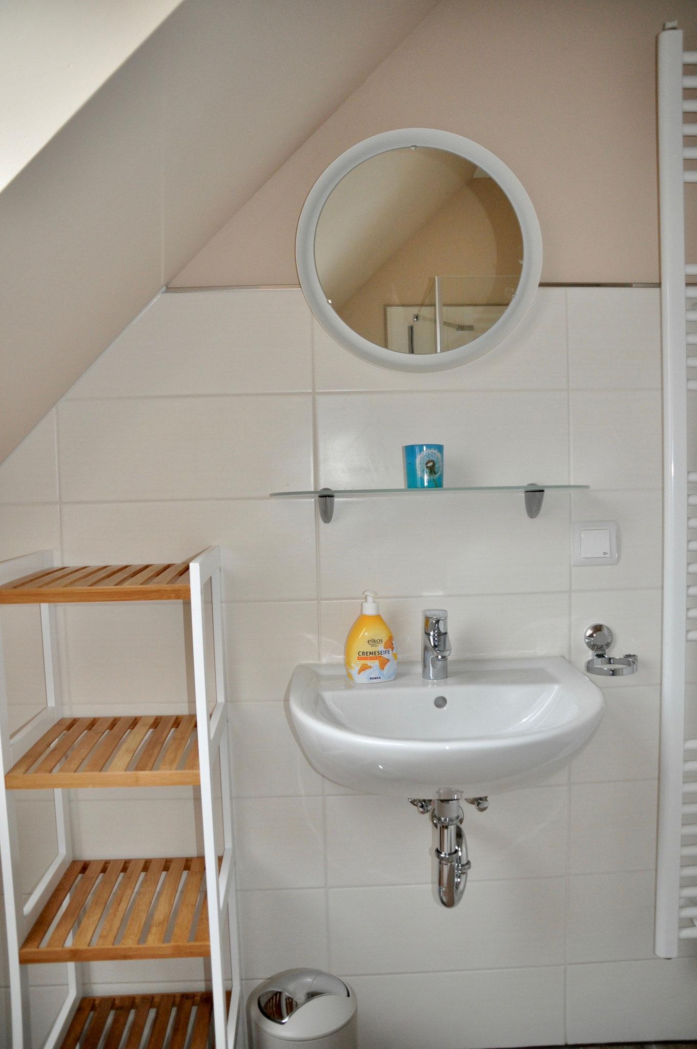 Waschbecken Dachgeschoß