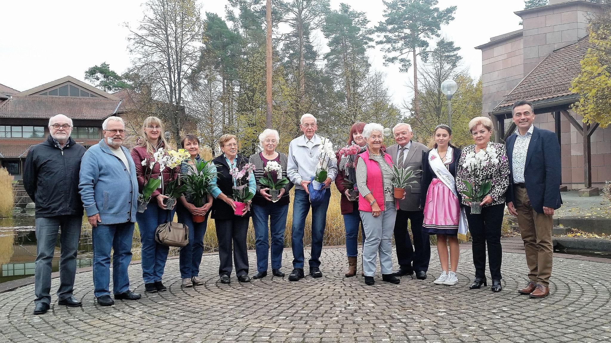 Sieger beim Blumenschmuckwettbewerb 2018