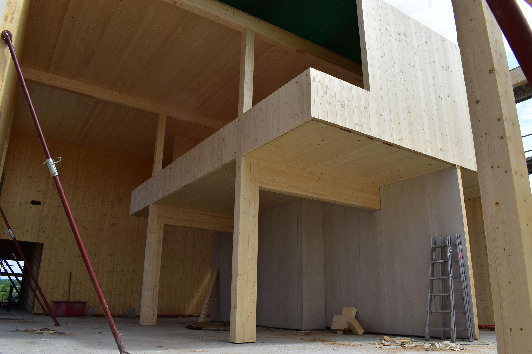 Bauteil 5 - Empfang und Galerie