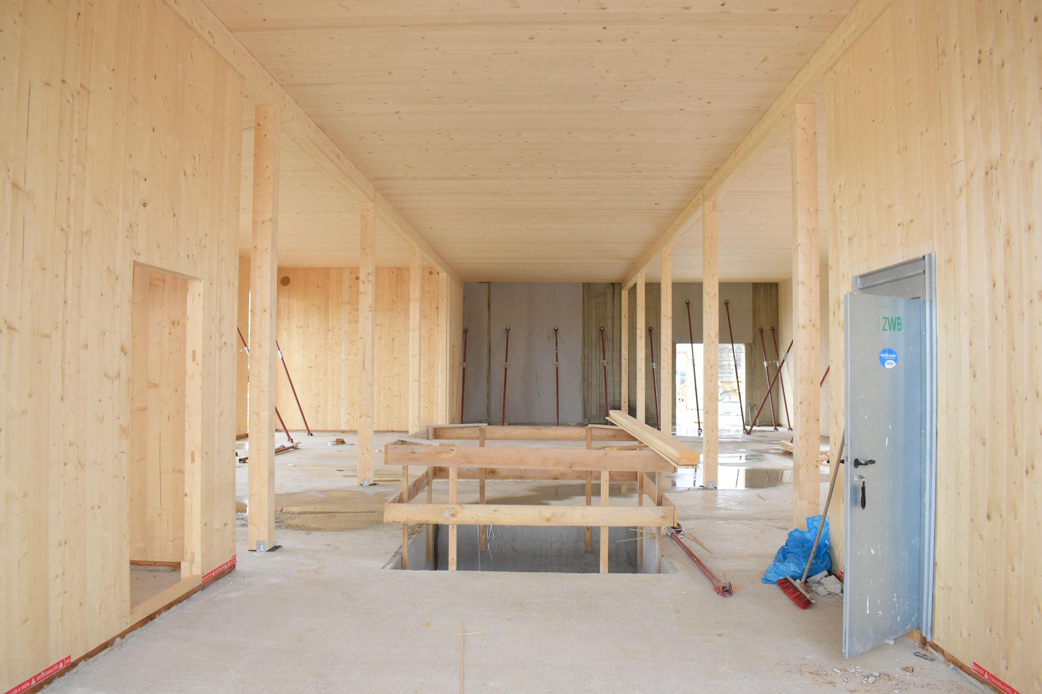 Bauteil 4 - Zugang zum Archiv im Kellergeschoss