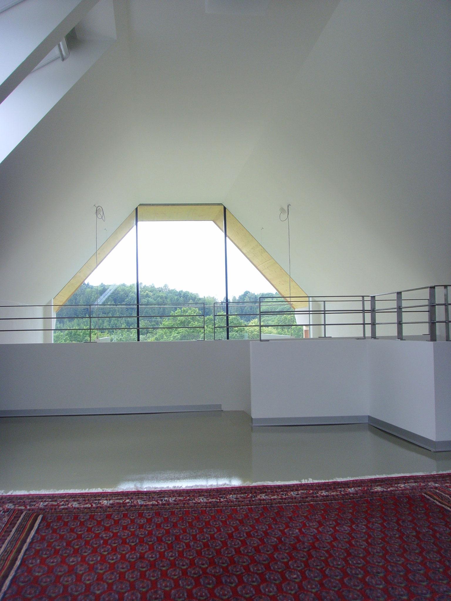 Ausblick Obergeschoss