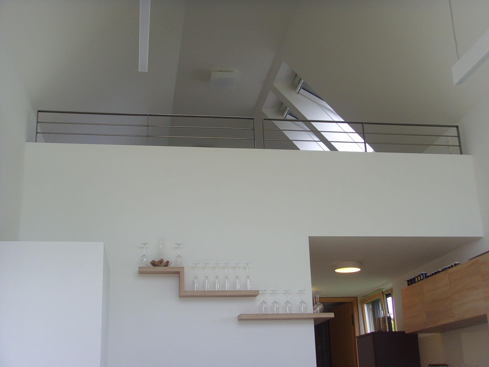 Offenes Obergeschoss