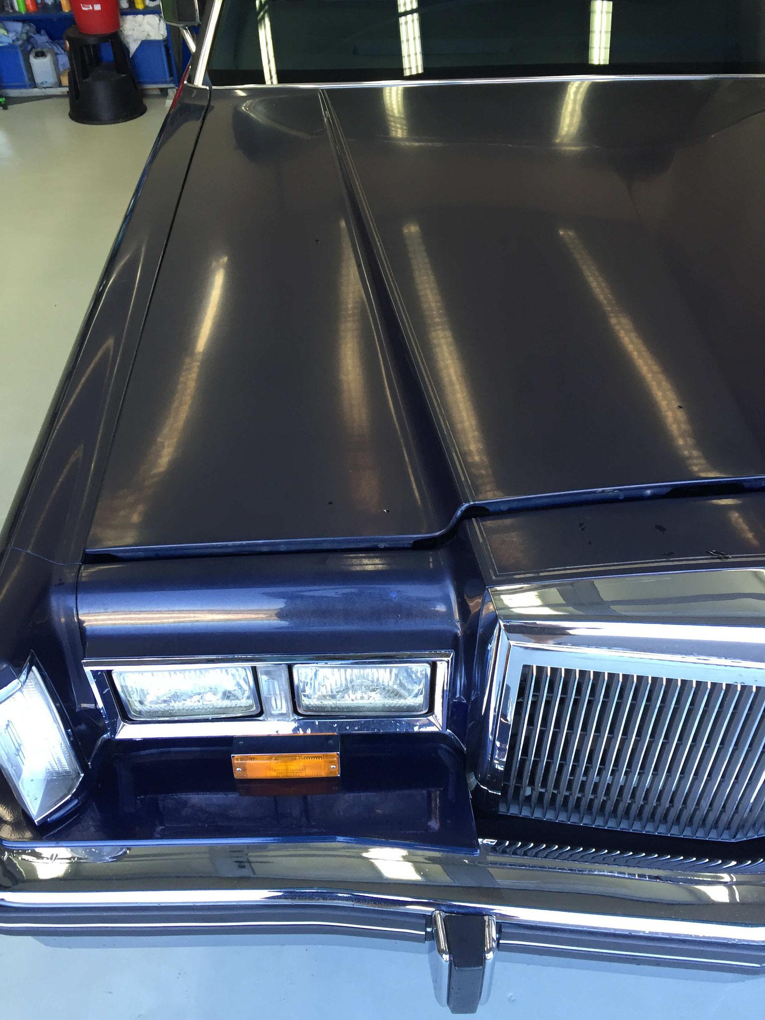 Lincoln Continental vorher