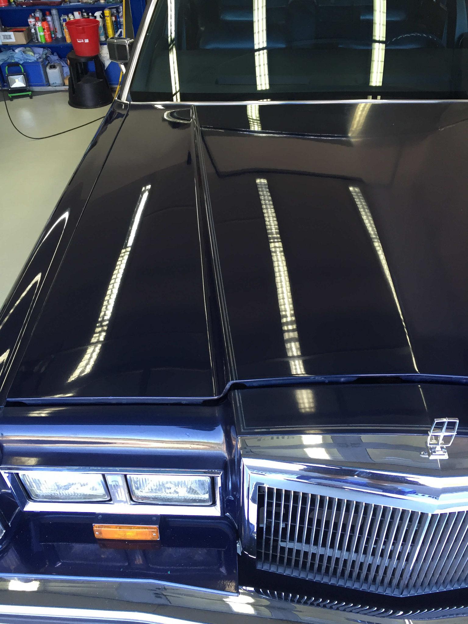 Lincoln Continental nachher