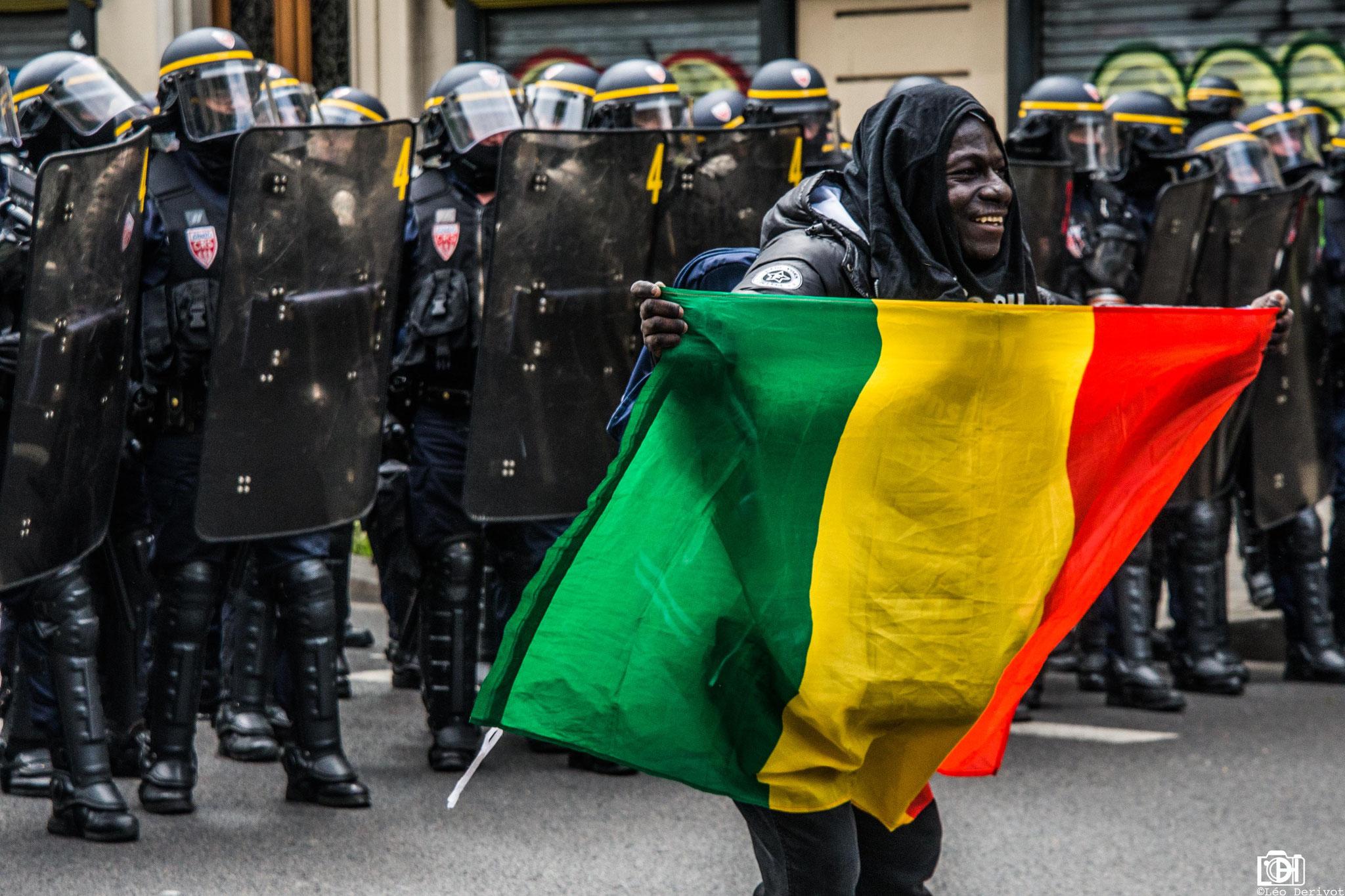 Manifestation contre la loi travail, Paris, 2017