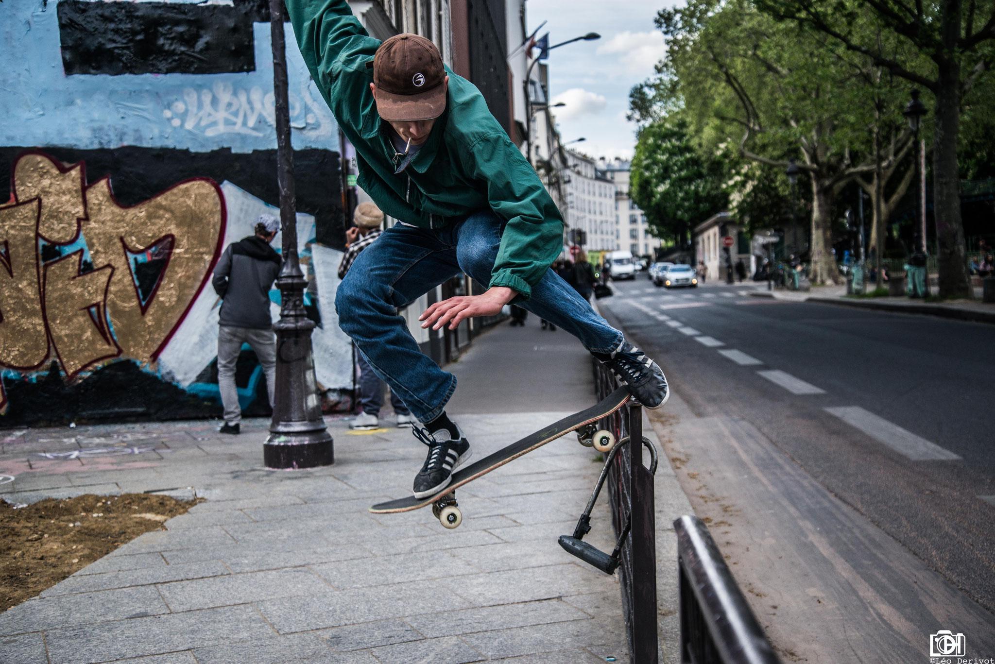 Skate, Paris, 2018