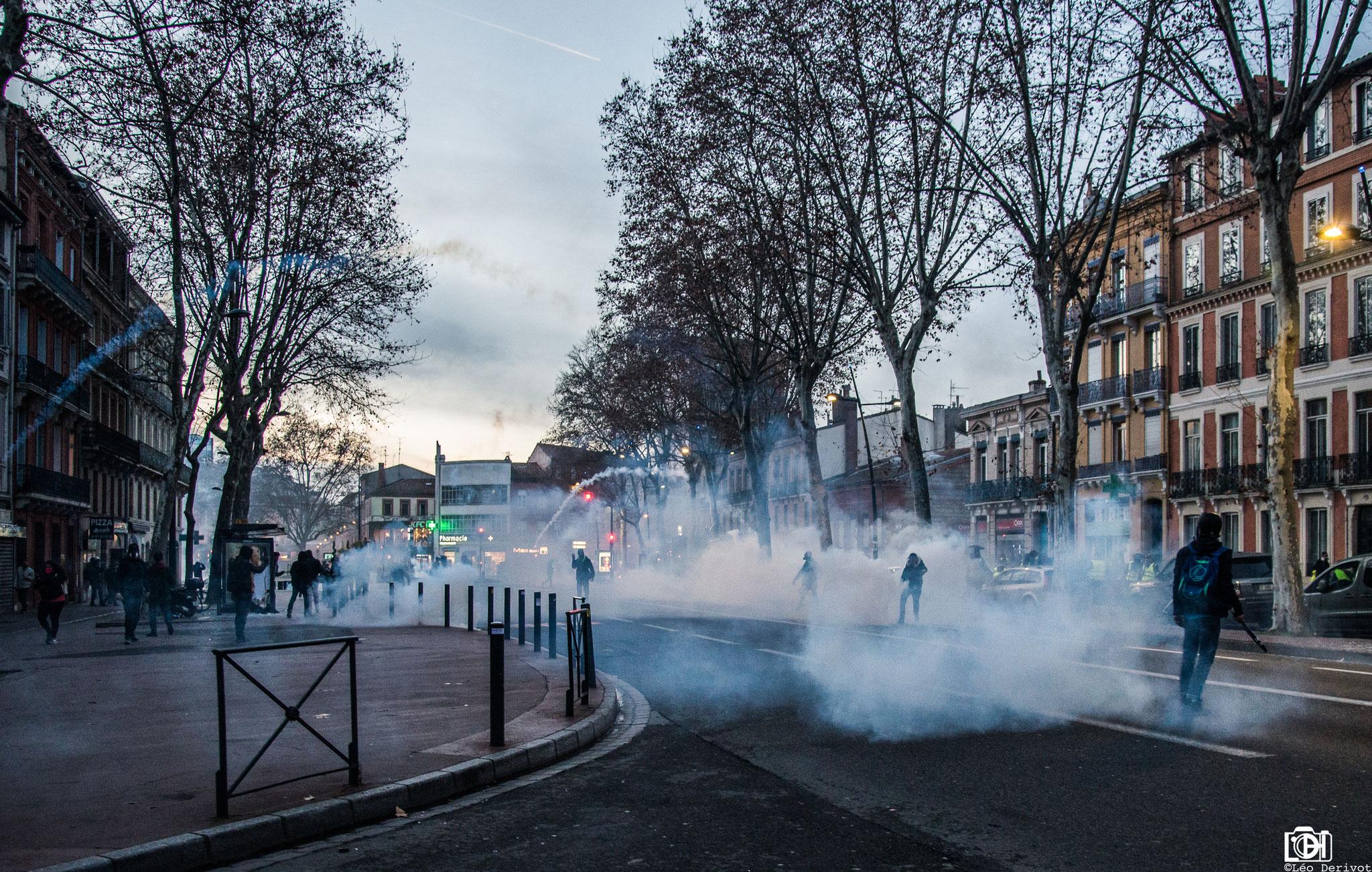Gilets Jaunes, Toulouse, Léo Derivot