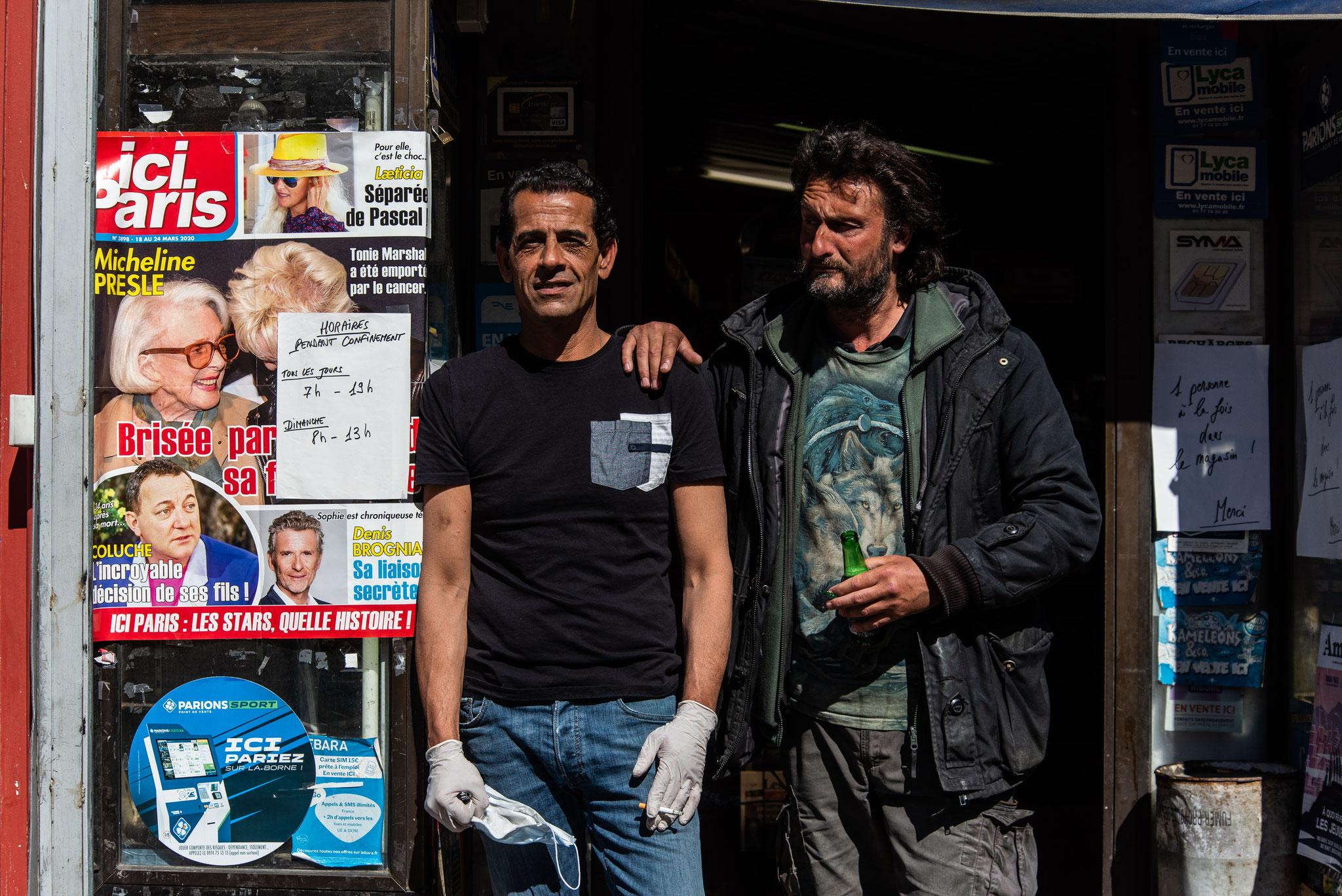À quelques pas, Marseille confinée, Avril 2020, Léo Derivot